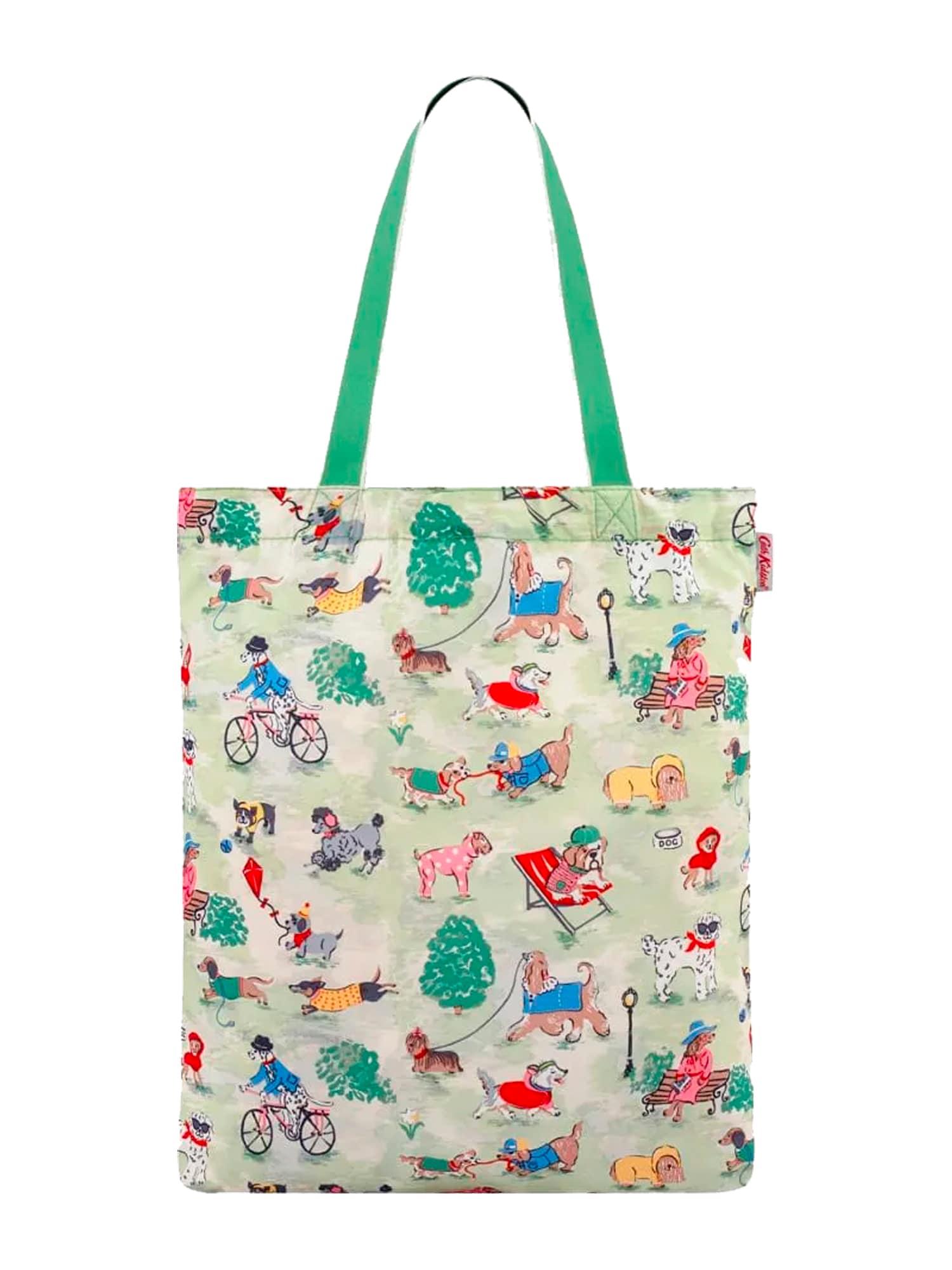 Cath Kidston Pirkinių krepšys šviesiai žalia / mišrios spalvos