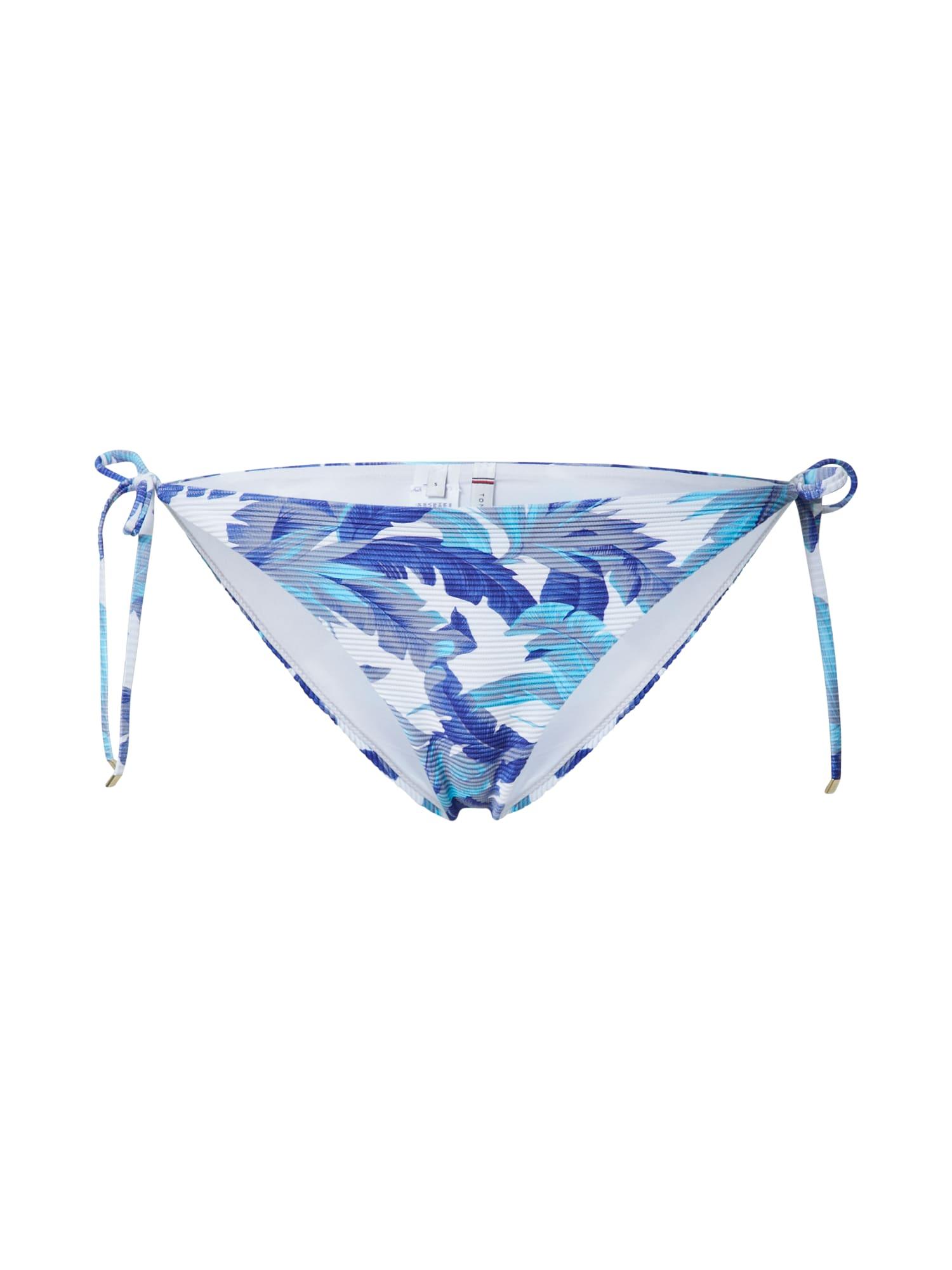 Tommy Hilfiger Underwear Bikinio kelnaitės mėlyna / balta / dangaus žydra