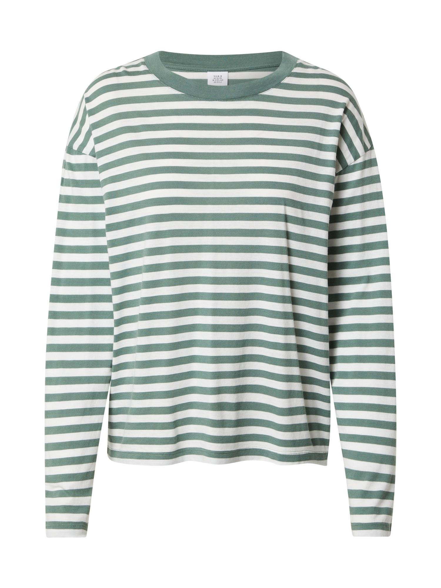 Kauf Dich Glücklich Marškinėliai žalia / balta