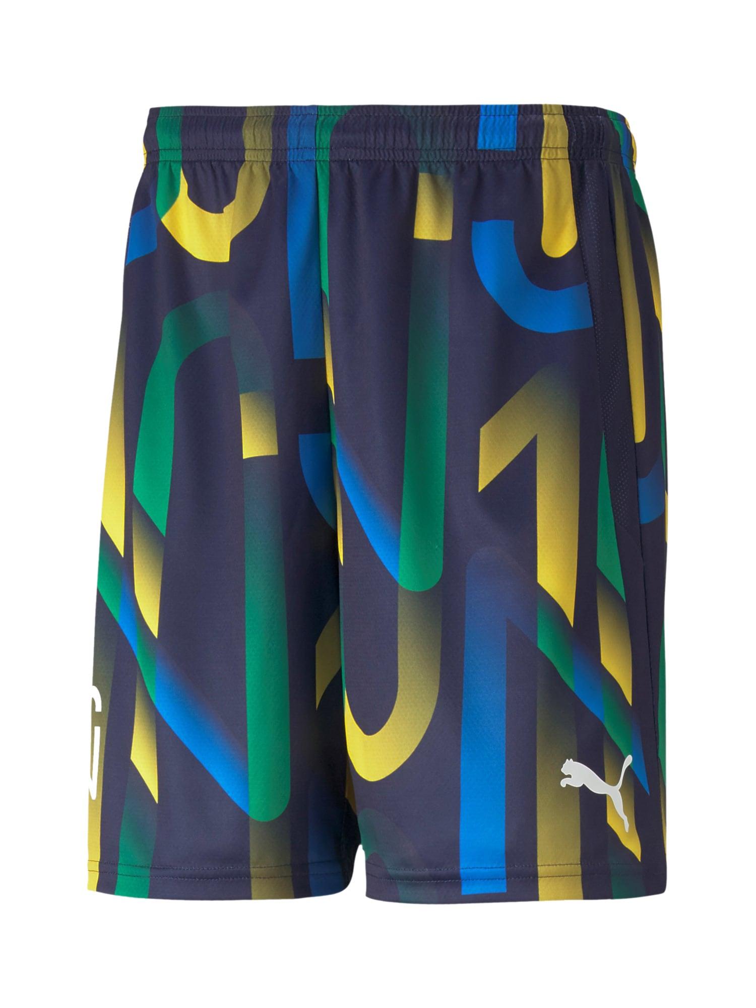 PUMA Sportovní kalhoty  mix barev / tmavě modrá