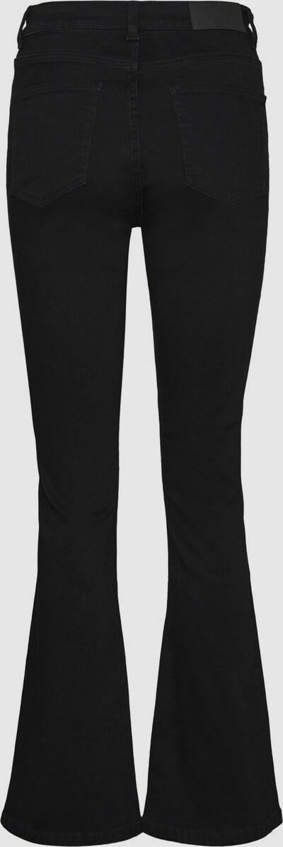 - High Waist - Ausgestellte Beinform - Gürtelschlaufen am Bund - Reiß- und Knopfverschluss vorn - Five-Pocket-Style - Dehnbarer Stoff - Skinny Fit