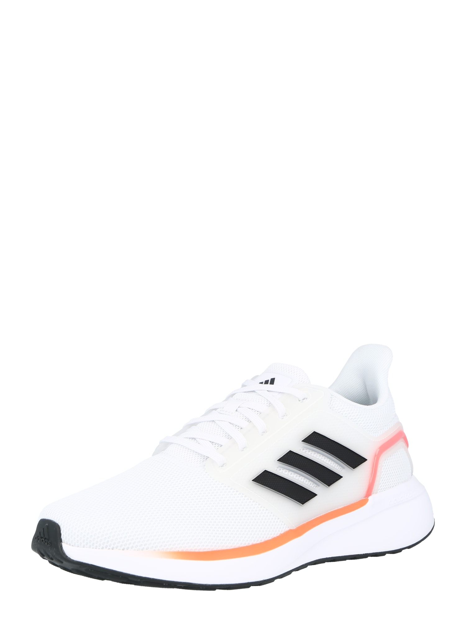 ADIDAS PERFORMANCE Bėgimo batai balta / juoda / tamsiai oranžinė