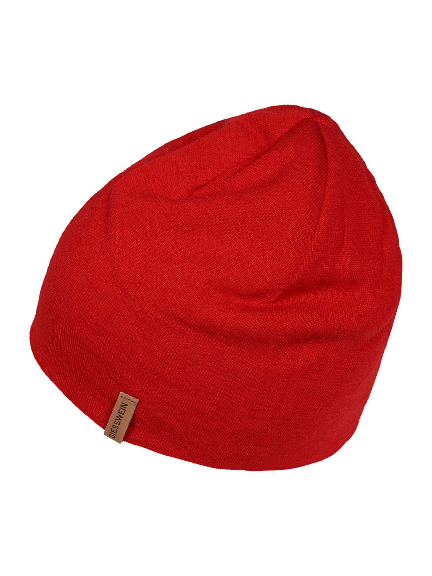GIESSWEIN Megzta kepurė raudona