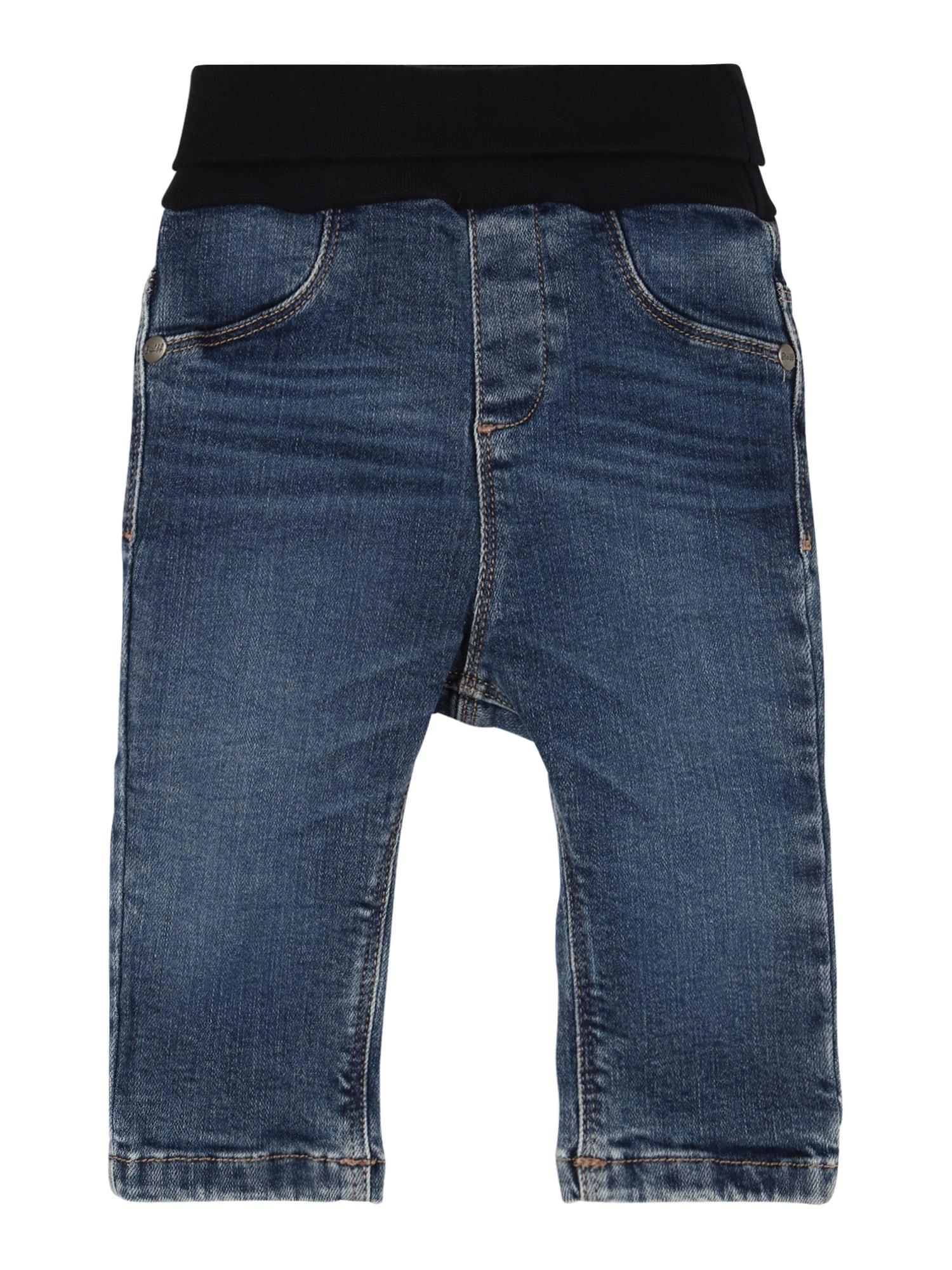 Steiff Collection Džíny  modrá džínovina / černá