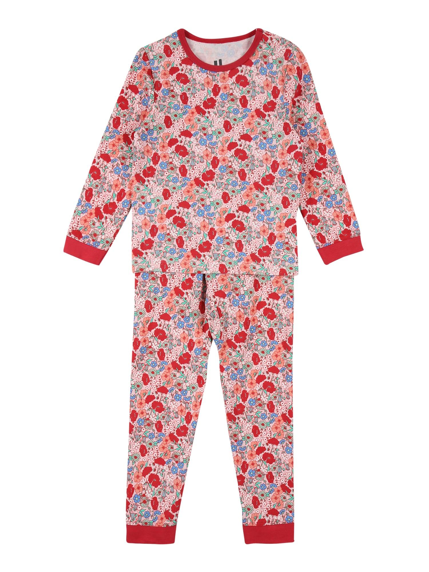 Cotton On Miego kostiumas 'Florence' rožių spalva / raudona / mėlyna / mėtų spalva / balta