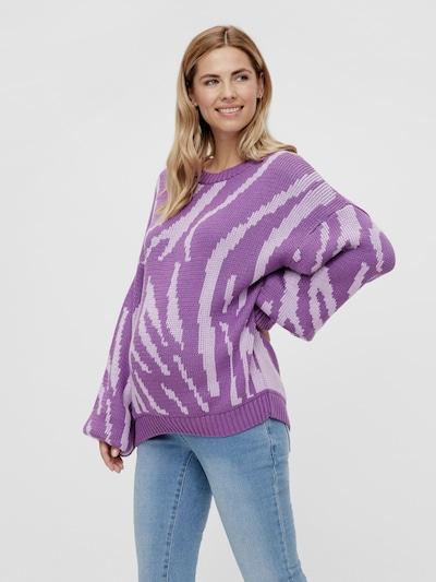 Mama.Licious  Rina langärmeliger Pullover mit Ton-in-Ton-Zebraprint