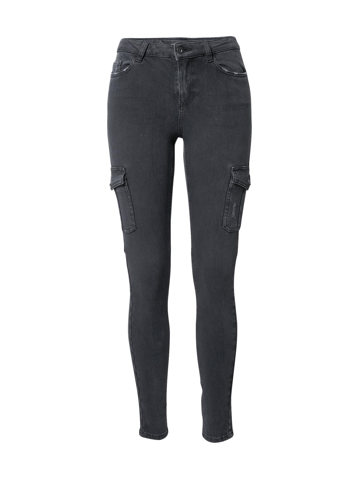 EDC BY ESPRIT Darbinio stiliaus džinsai pilko džinso