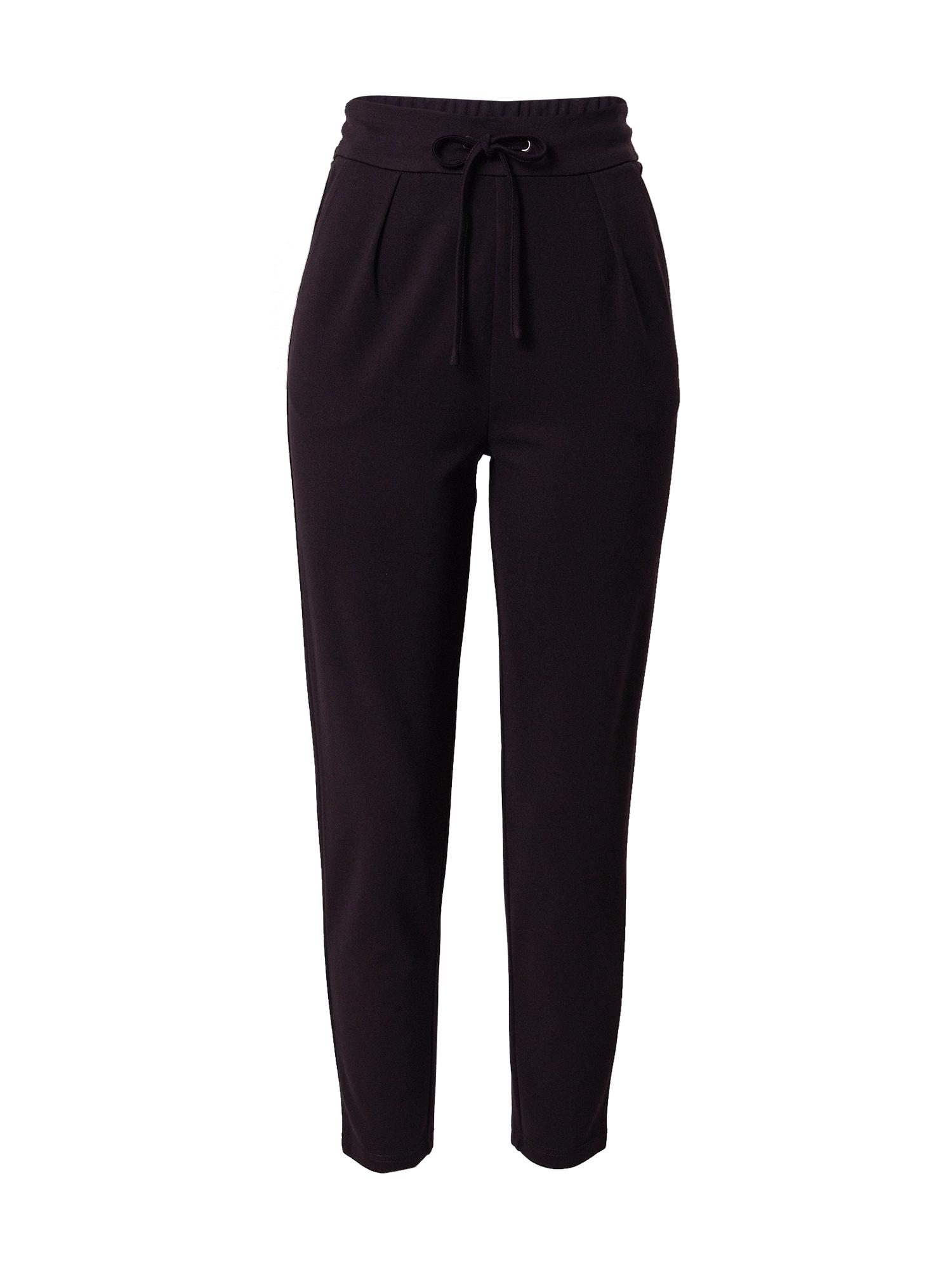 ABOUT YOU Kalhoty se sklady v pase 'Fenja'  černá