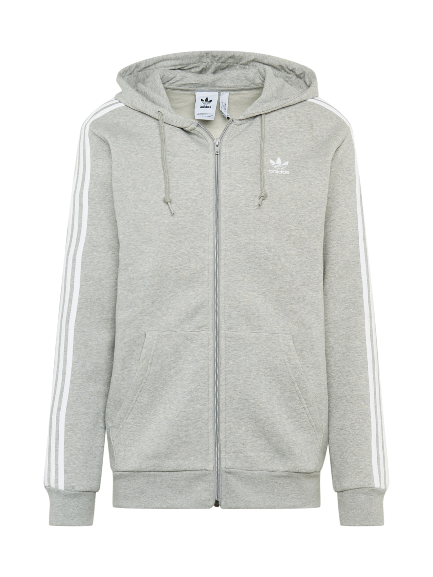 ADIDAS ORIGINALS Džemperis pilka / balta