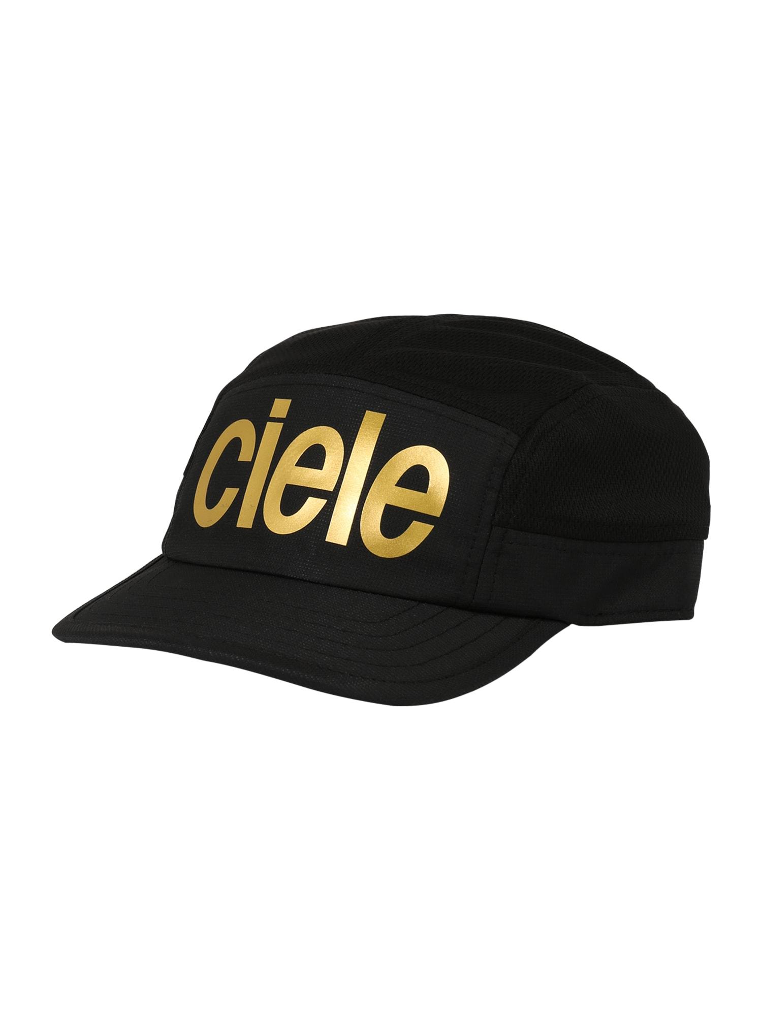 CIELE ATHLETICS Kepurė juoda / auksas