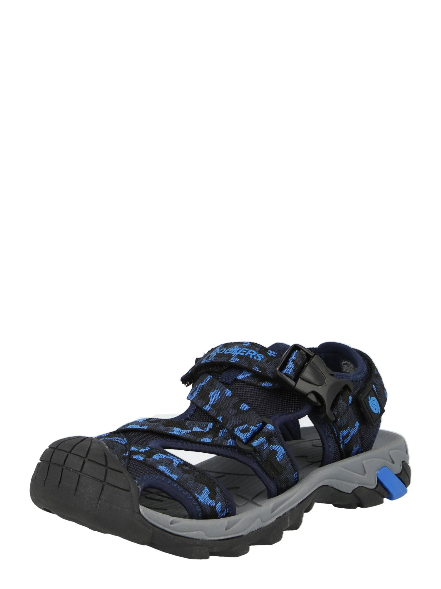 Dockers by Gerli Atviri batai juoda / mėlyna