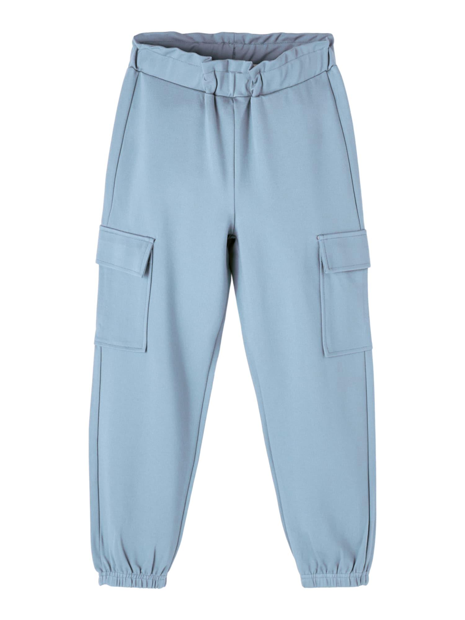 NAME IT Kalhoty  kouřově modrá