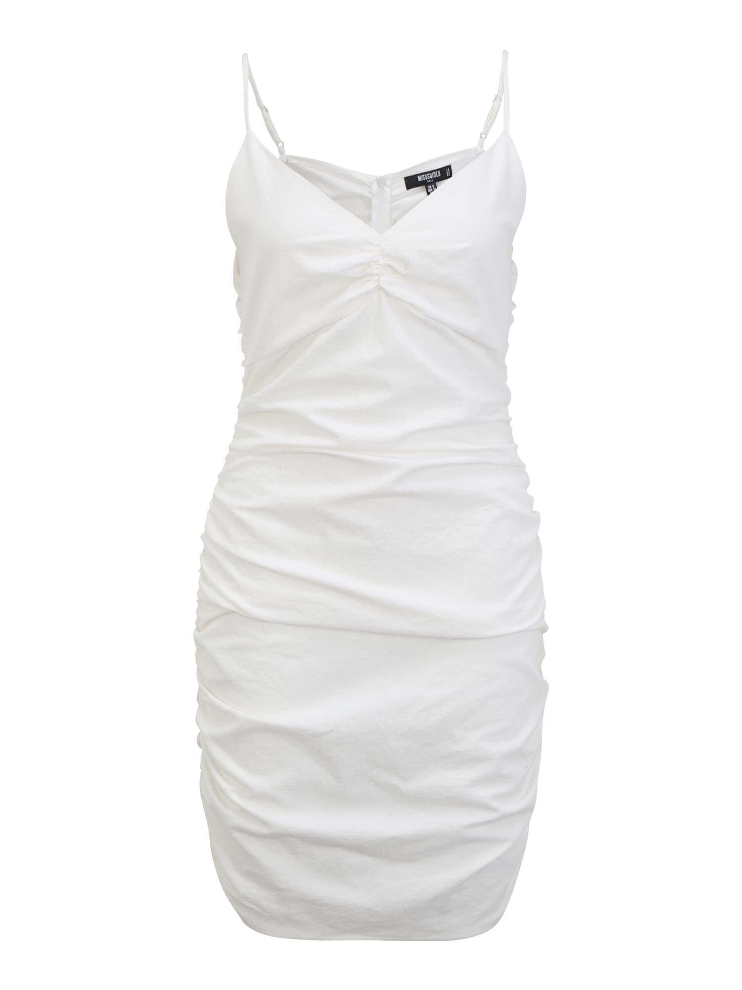 Missguided Tall Kokteilinė suknelė kremo
