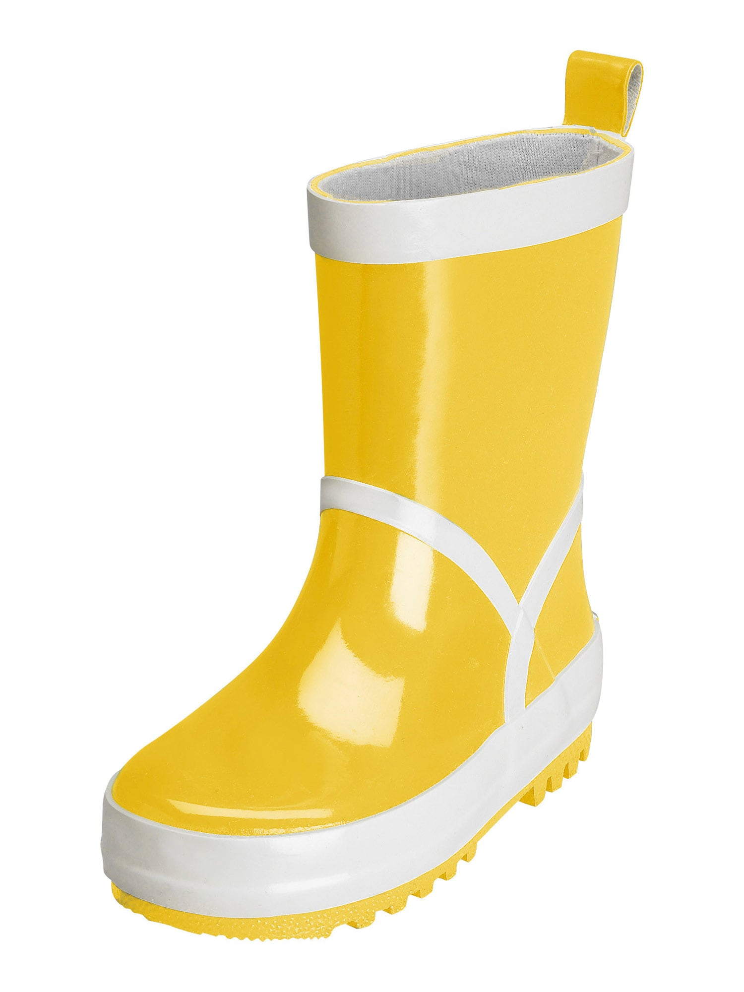 PLAYSHOES Guminiai batai geltona / balta