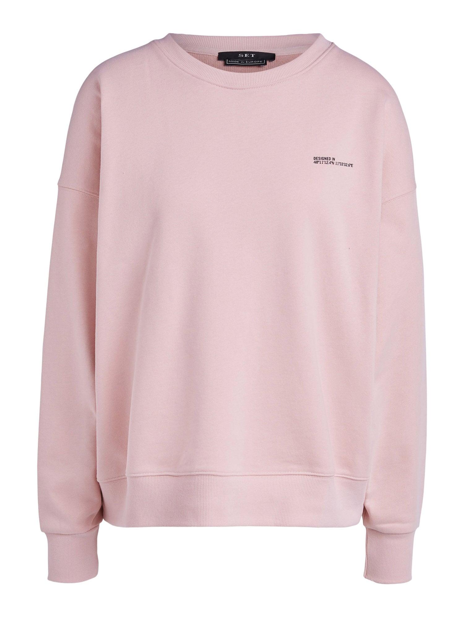 SET Mikina  pastelově růžová