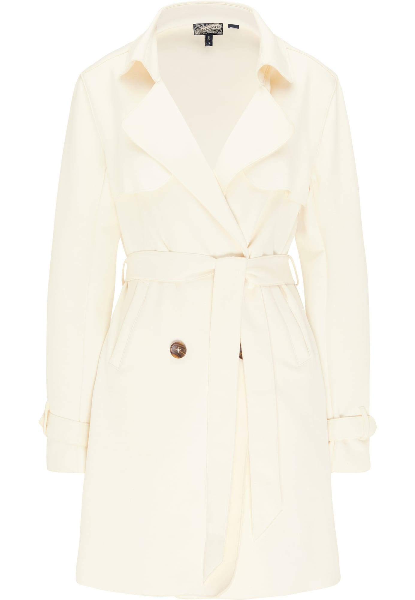 DreiMaster Vintage Demisezoninis paltas balta