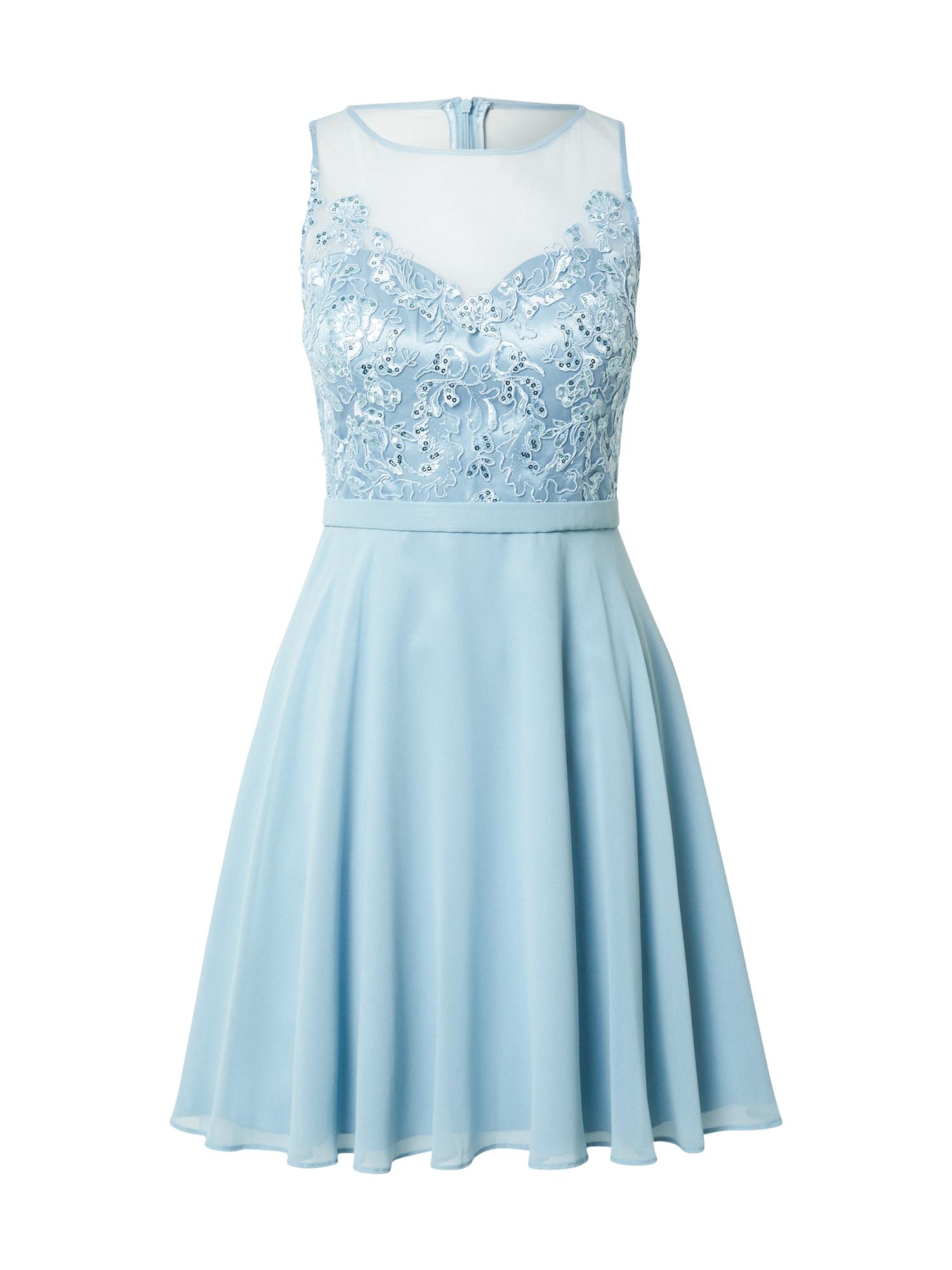 VM Vera Mont Kokteilinė suknelė šviesiai mėlyna