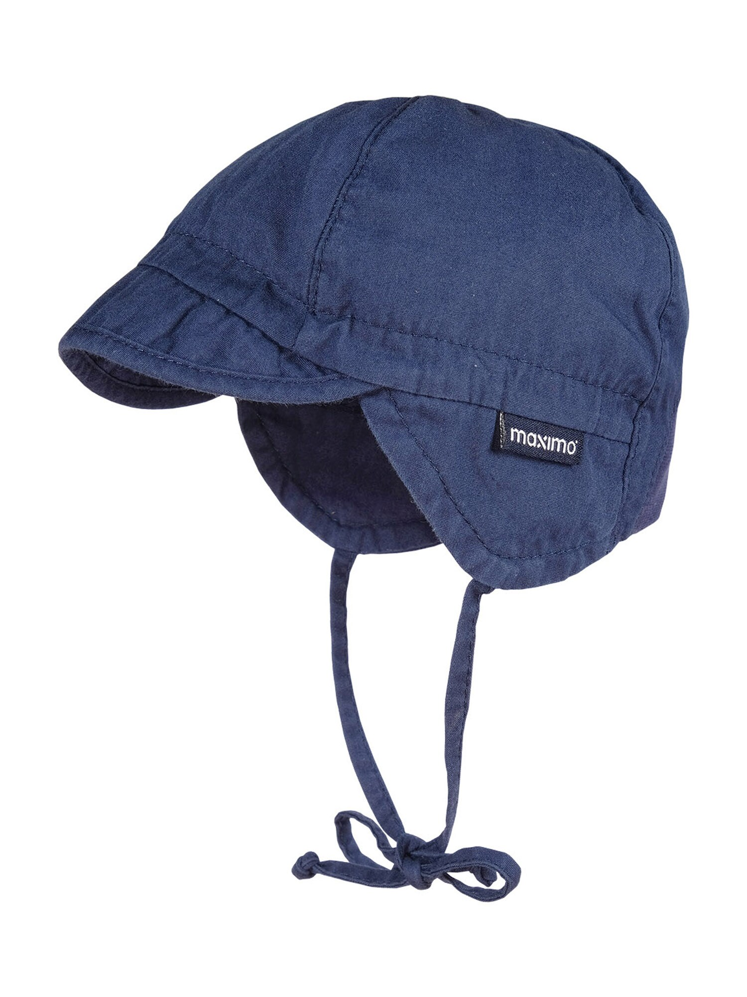 MAXIMO Megzta kepurė tamsiai mėlyna
