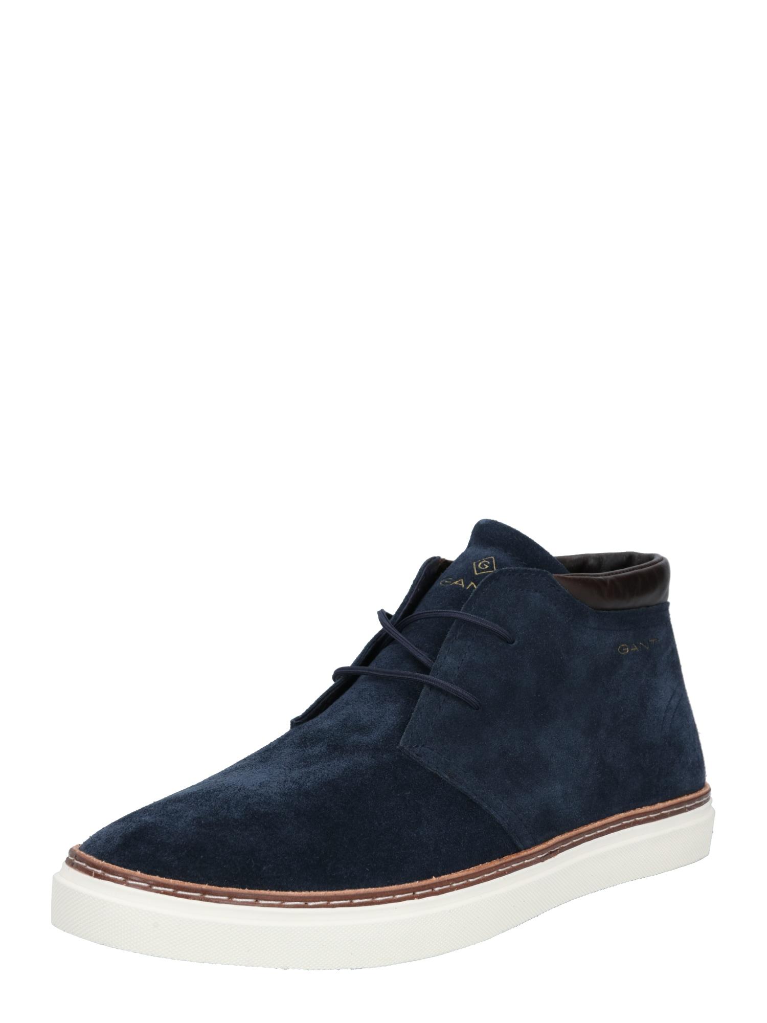 GANT Šněrovací boty 'Prepville'  marine modrá