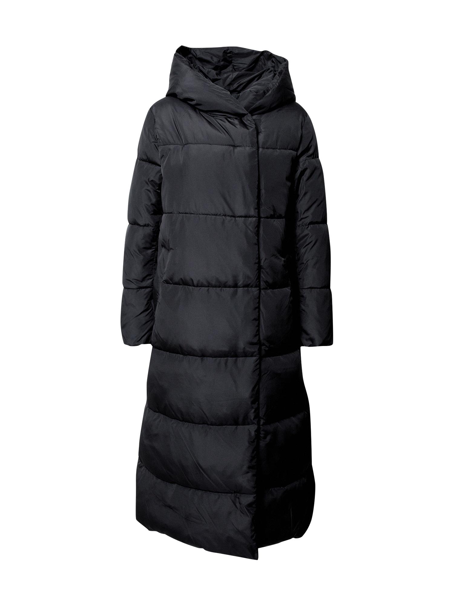 Esprit Collection Zimní kabát  černá