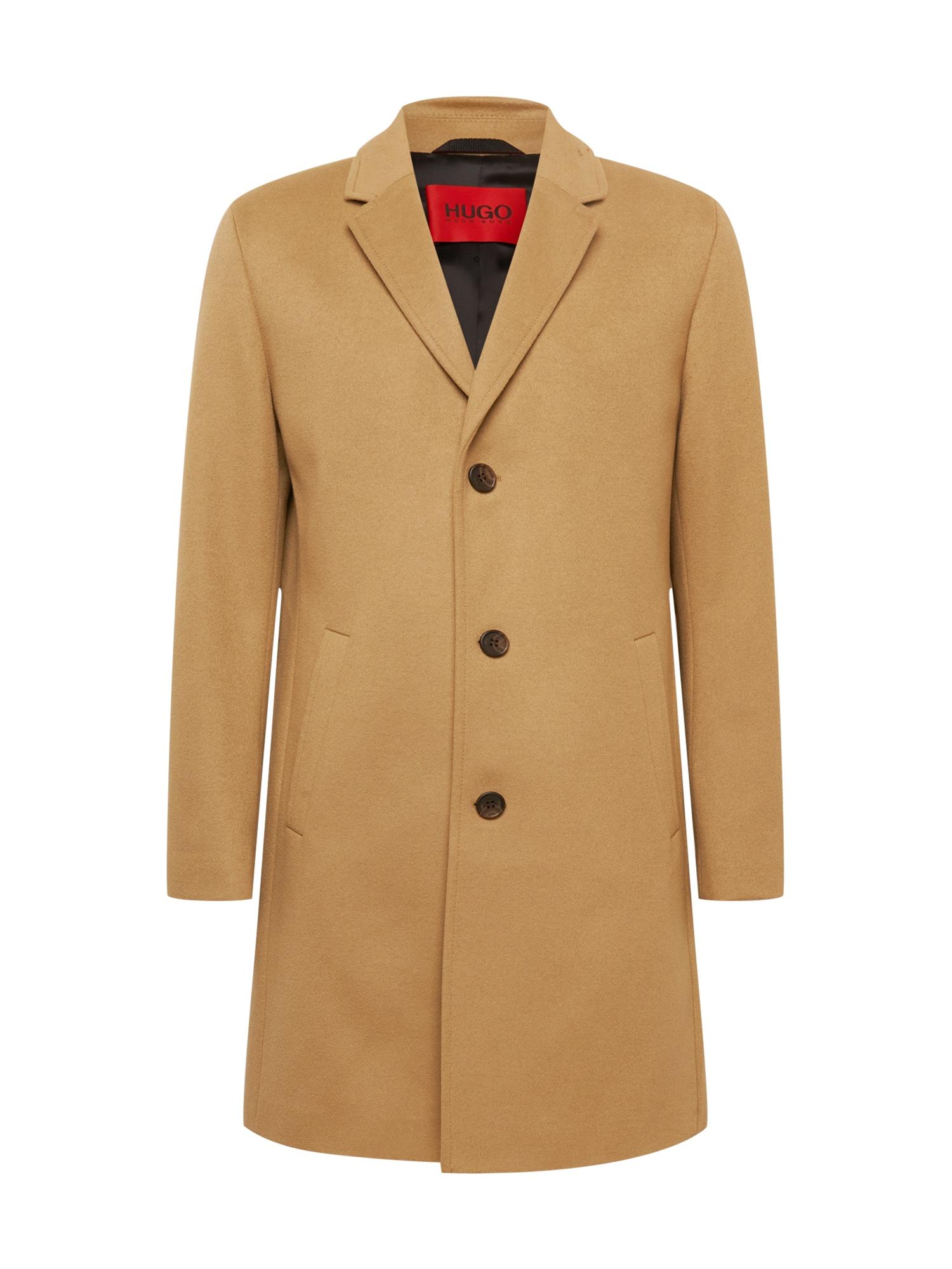 HUGO Přechodný kabát 'Malte2141'  písková