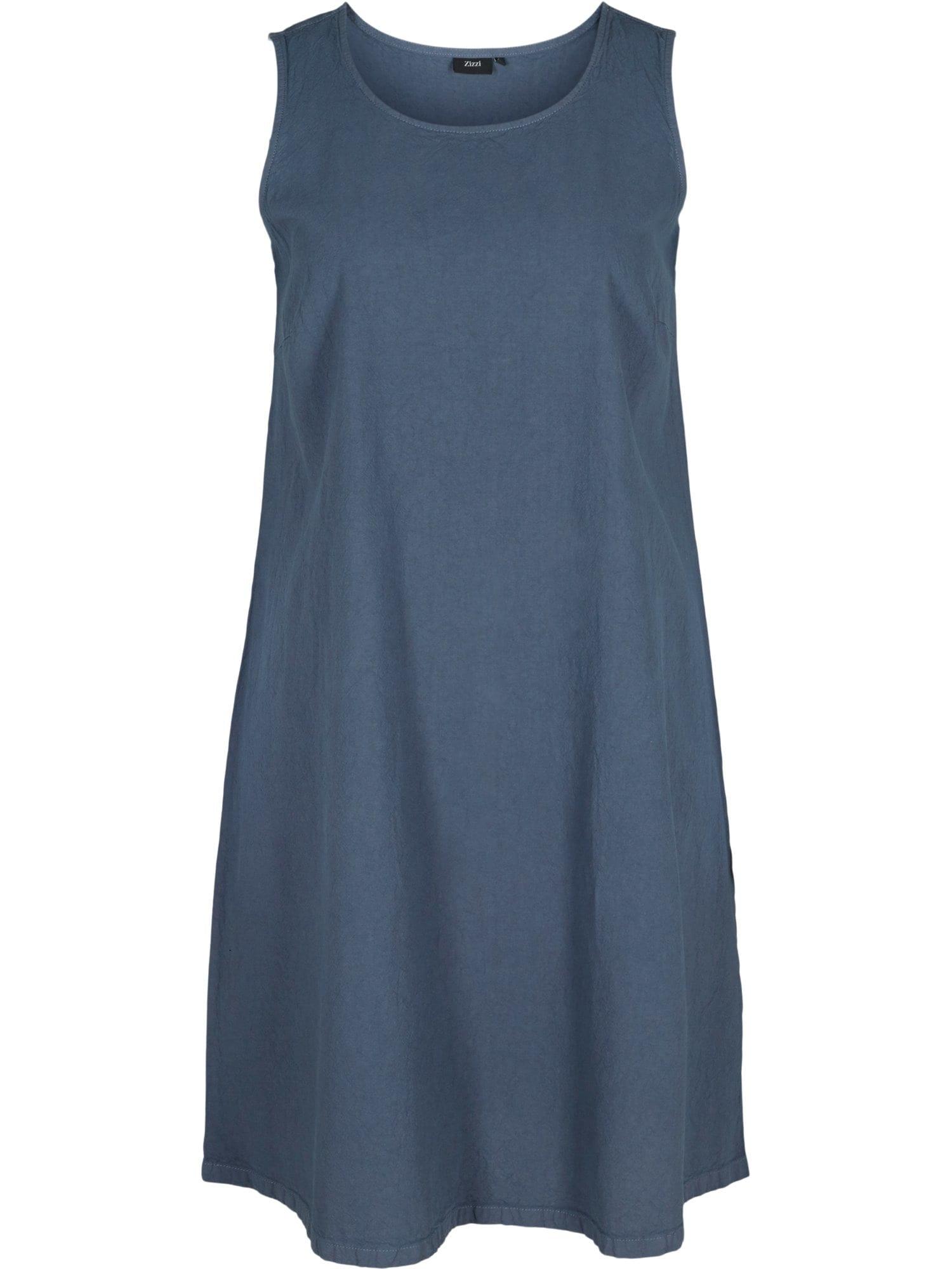 Zizzi Letní šaty 'Jeasy'  chladná modrá