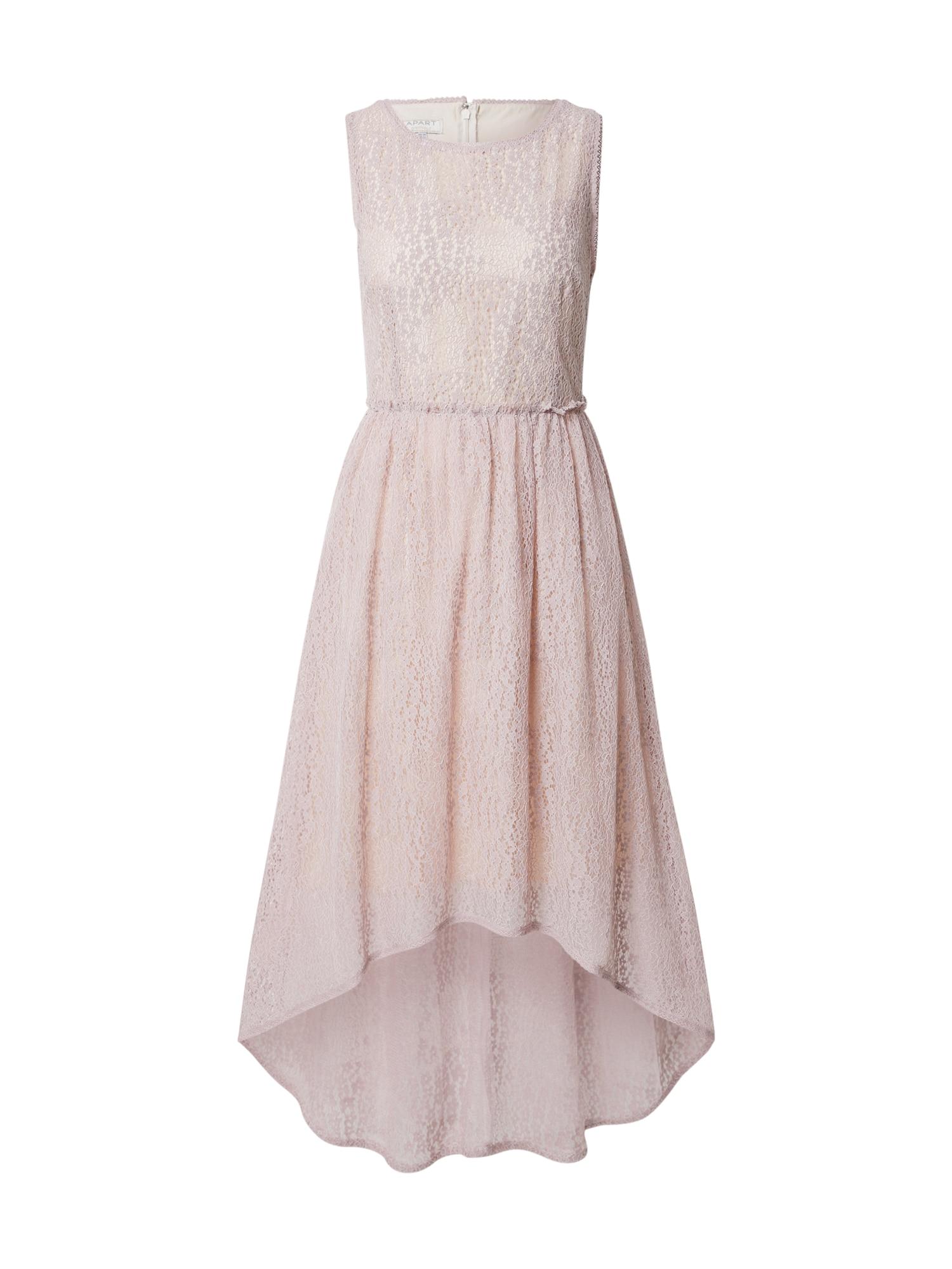 APART Vakarinė suknelė rausvai violetinė spalva / kūno spalva