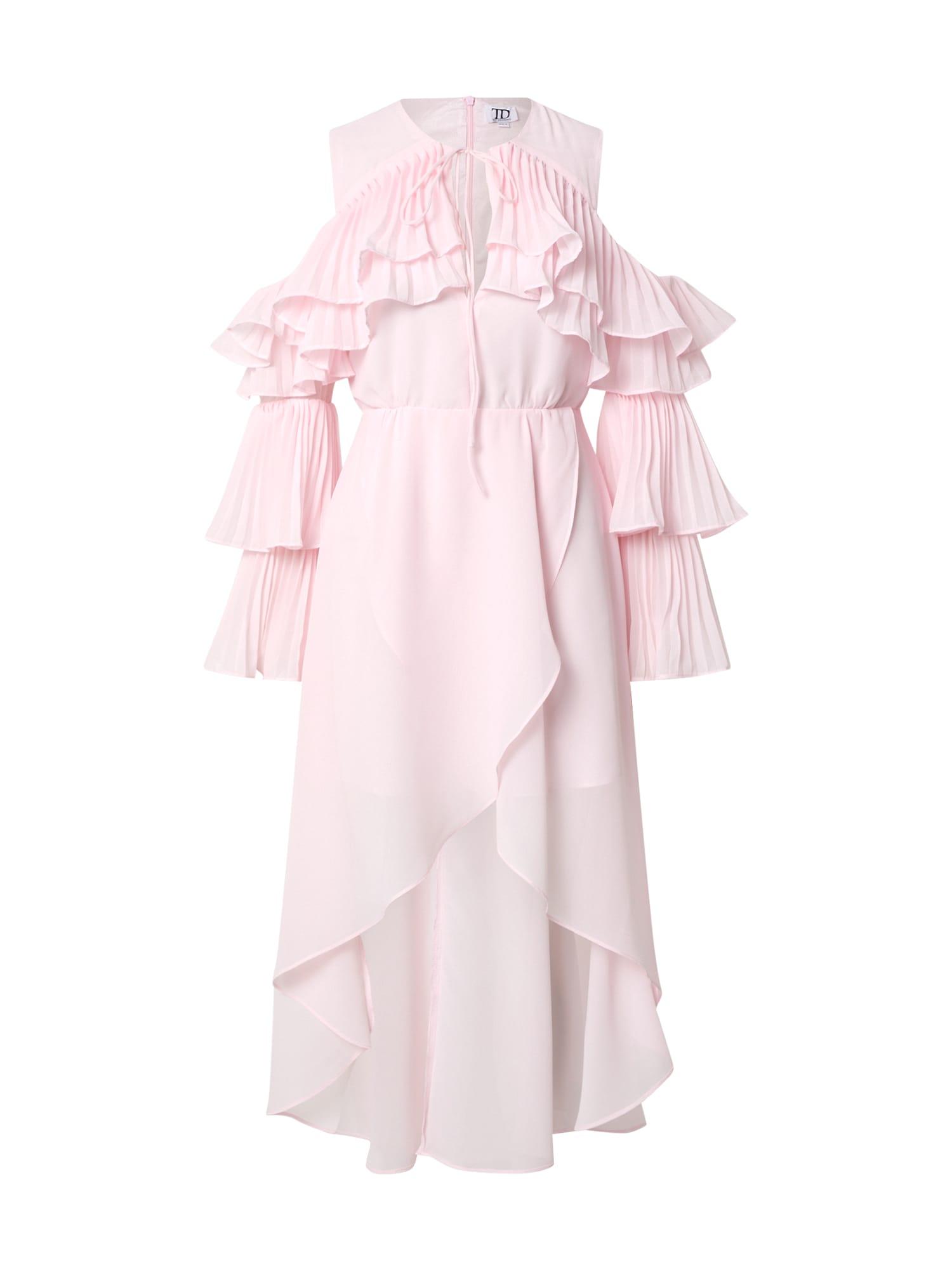 True Decadence Suknelė šviesiai rožinė