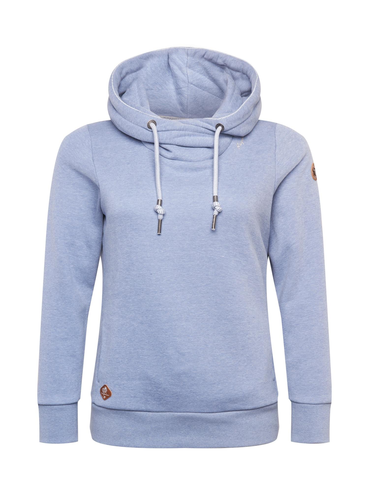 Ragwear Plus Megztinis be užsegimo levandų spalva