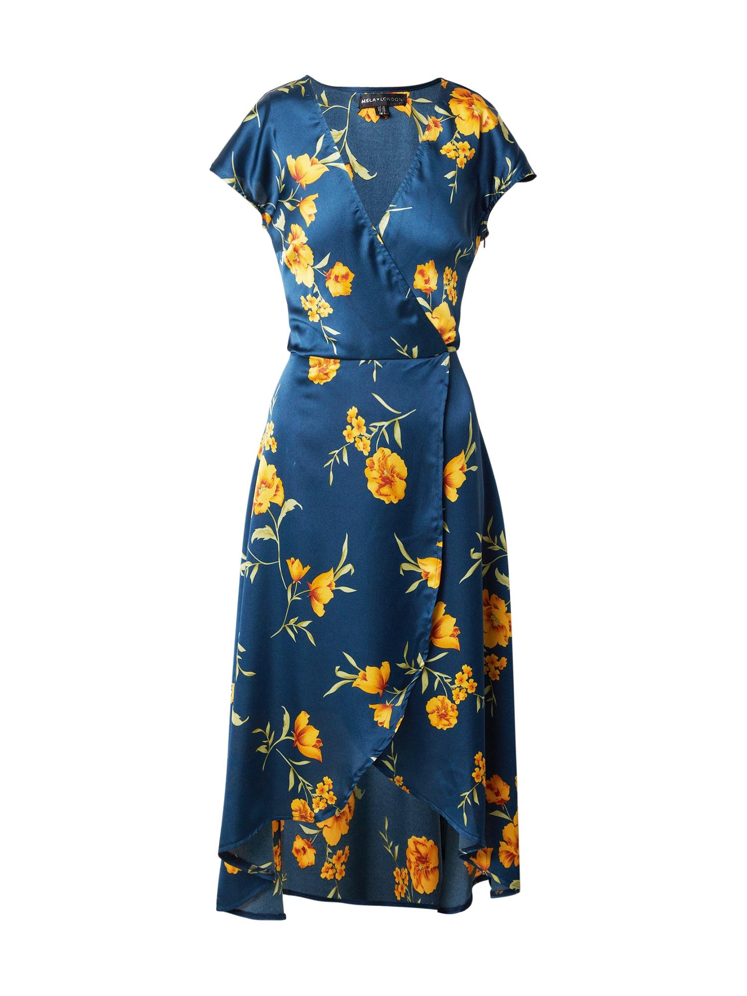 Mela London Šaty  námořnická modř / mix barev