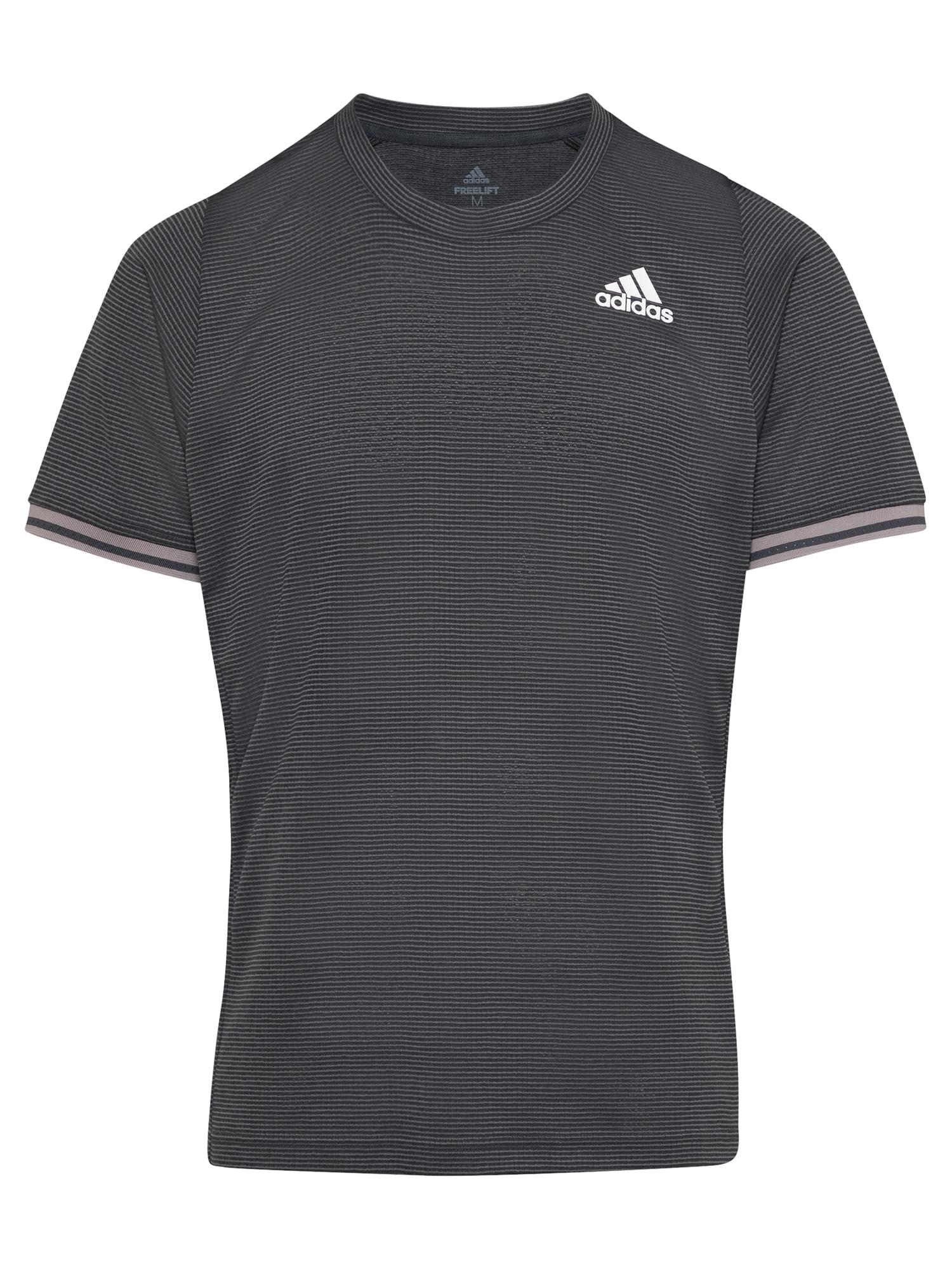 ADIDAS PERFORMANCE Funkční tričko 'FREELIFT'  šedá