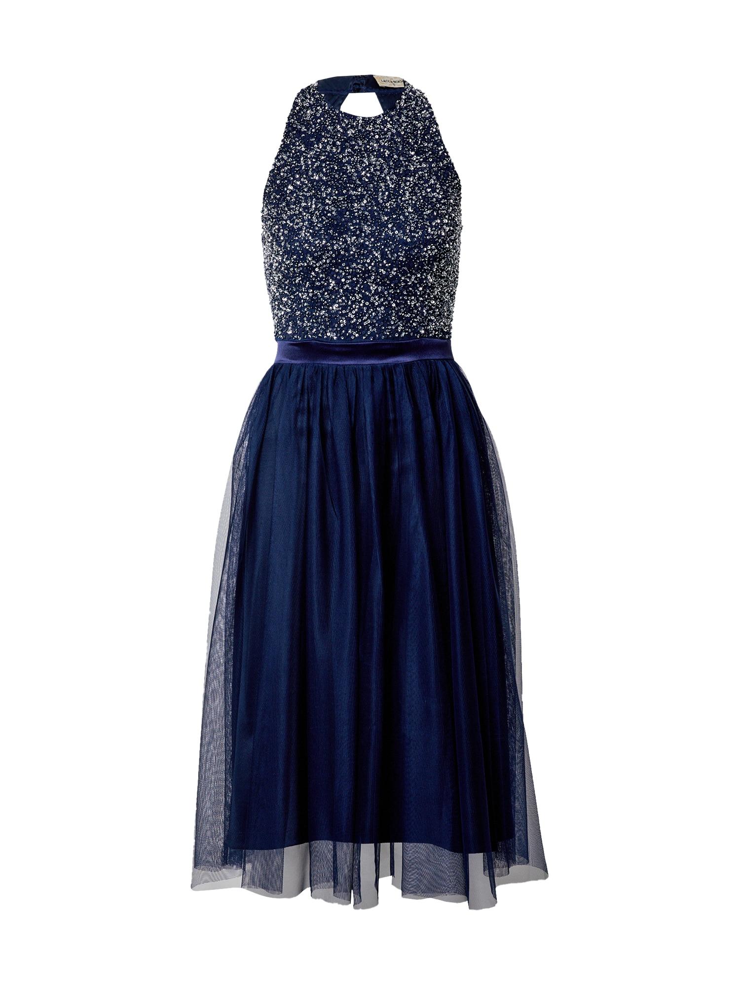 LACE & BEADS Kokteilinė suknelė