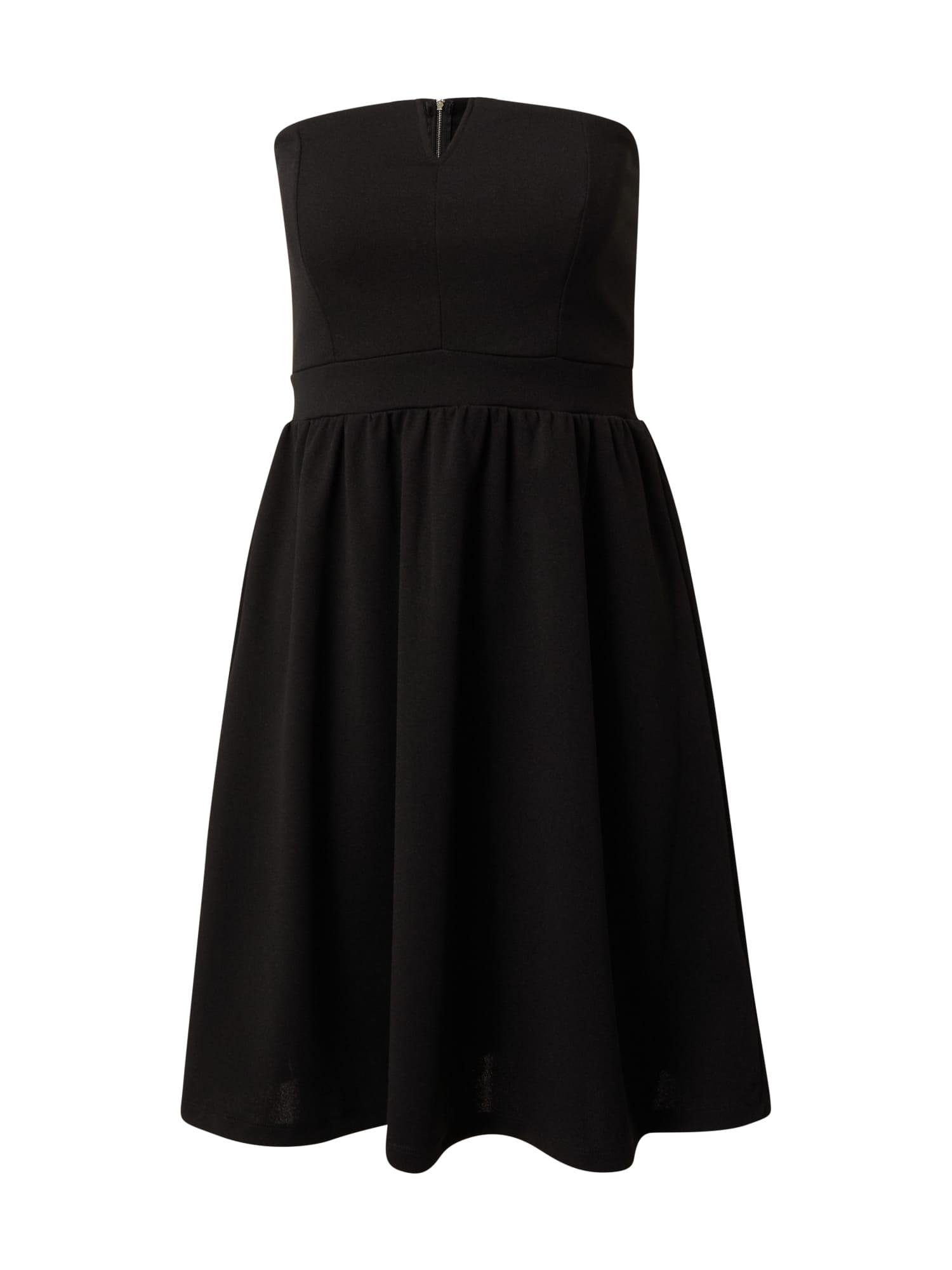 ABOUT YOU Koktejlové šaty 'Aurea'  černá