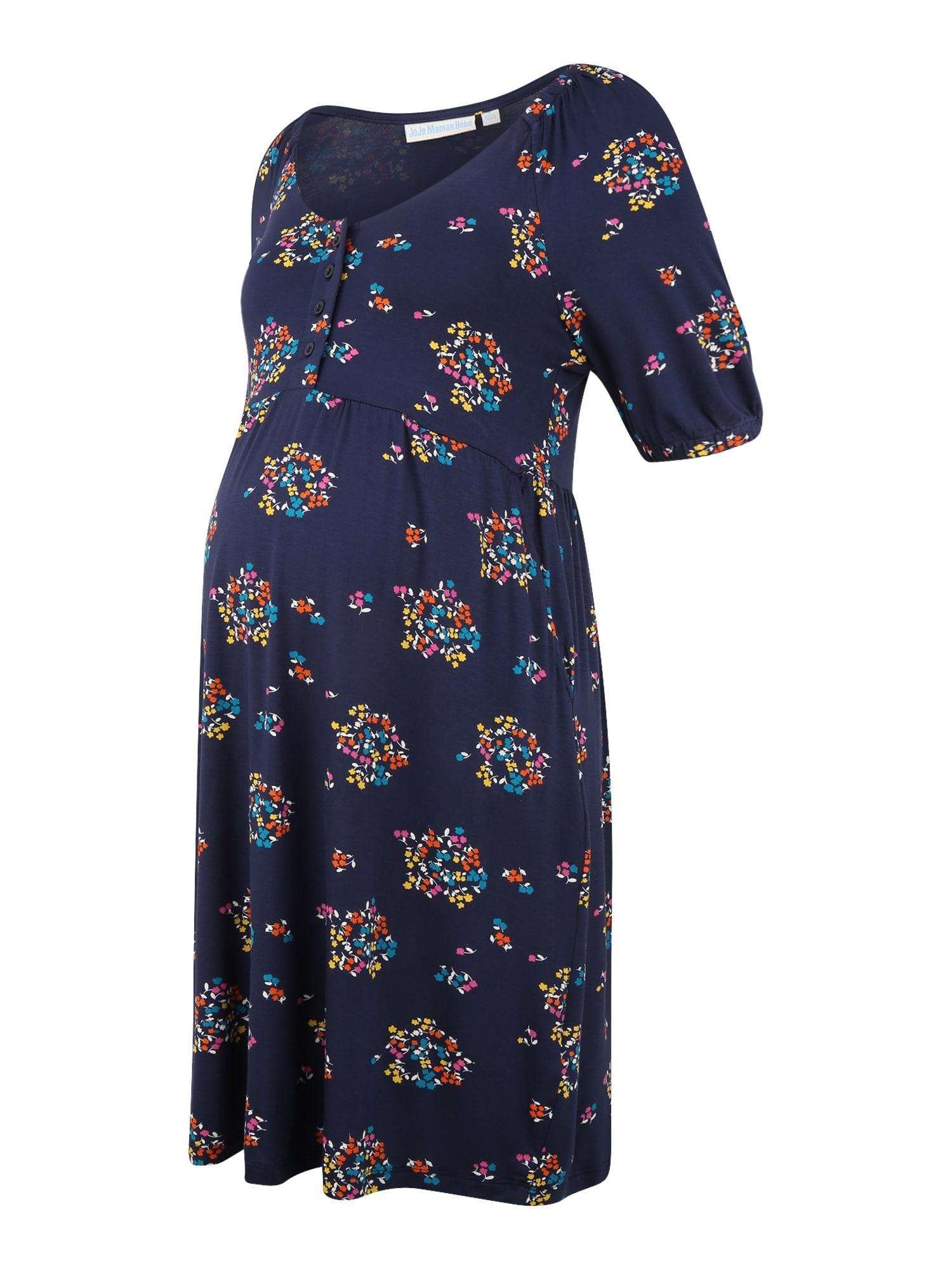 JoJo Maman Bébé Palaidinės tipo suknelė tamsiai mėlyna / mišrios spalvos