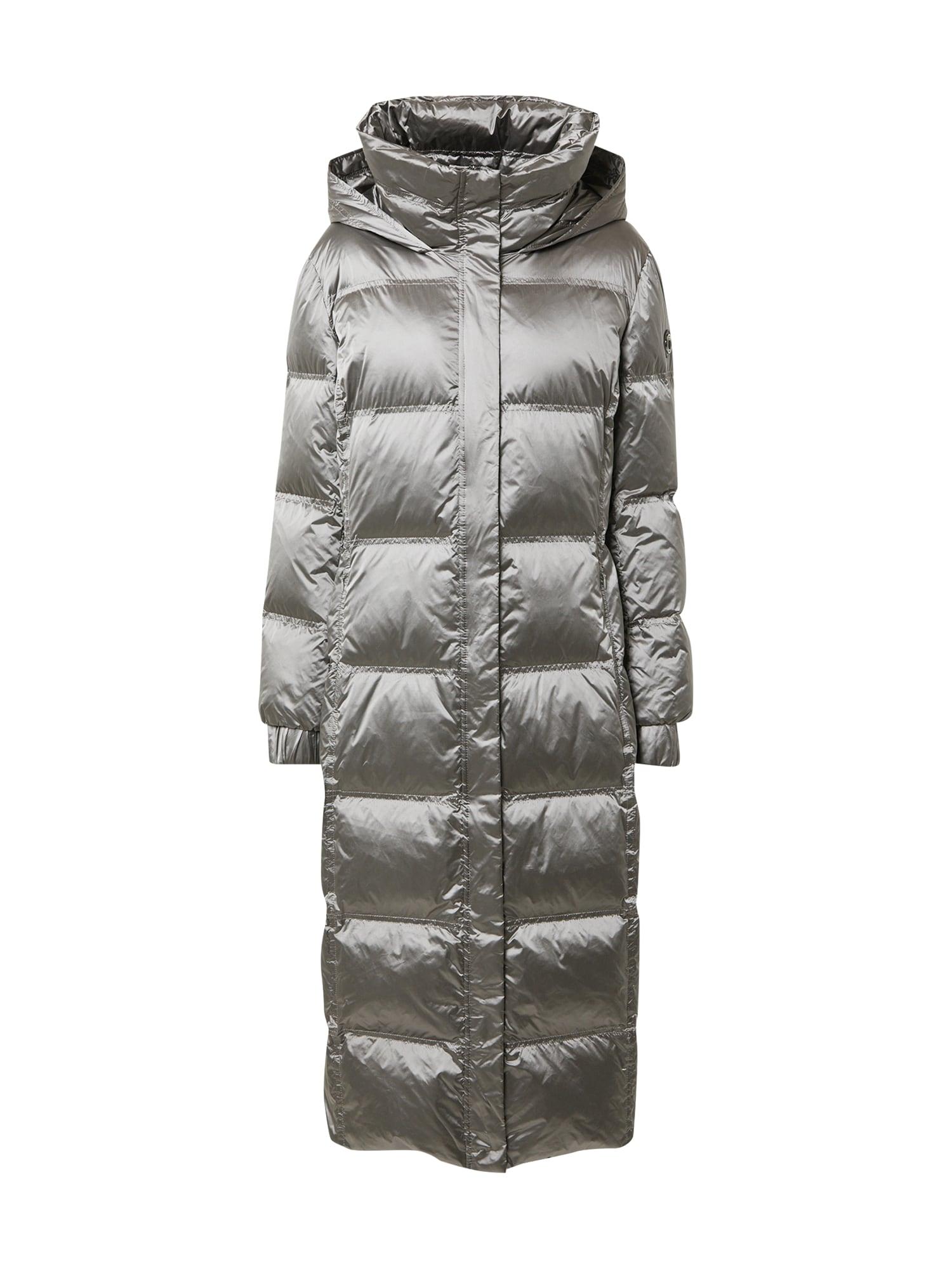 LAUREL Přechodný kabát  stříbrně šedá