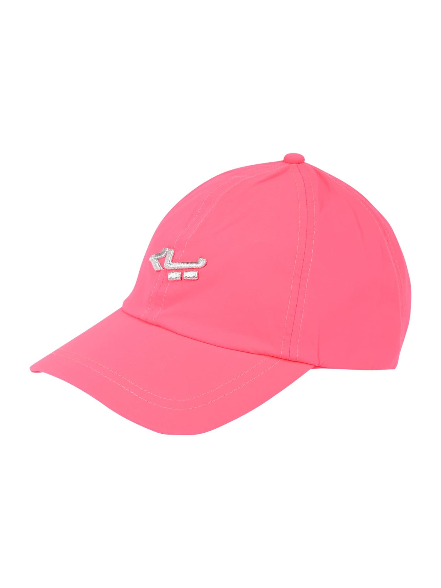 Röhnisch Sportinė kepurė rožinė / sidabrinė