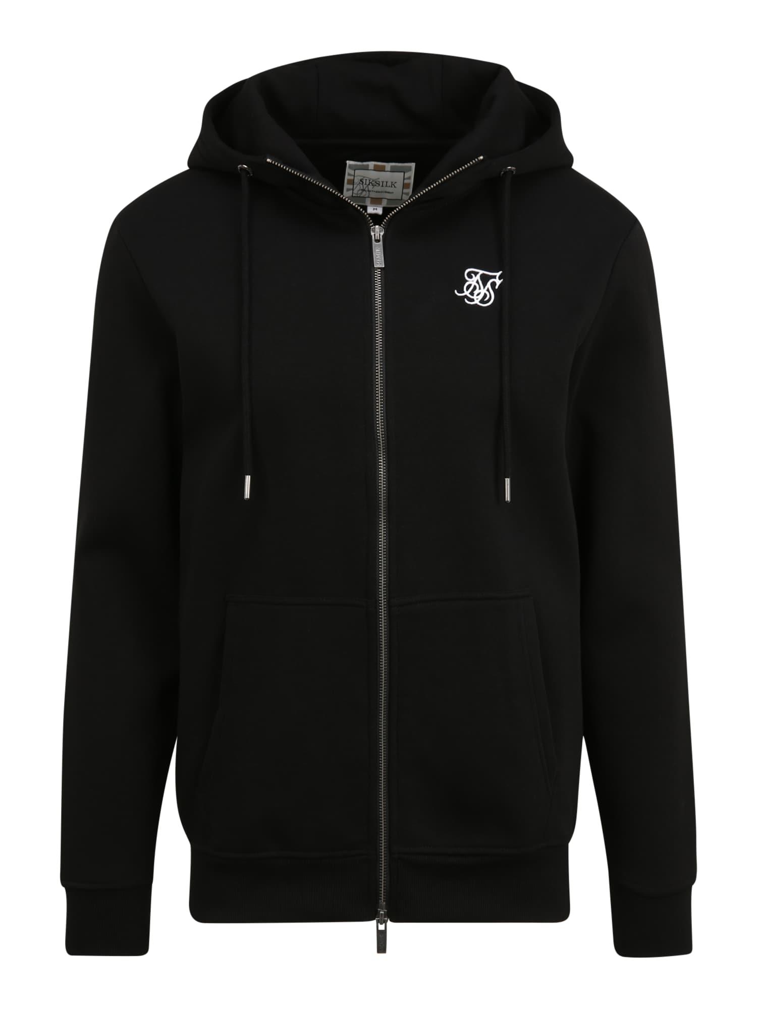 SikSilk Džemperis juoda
