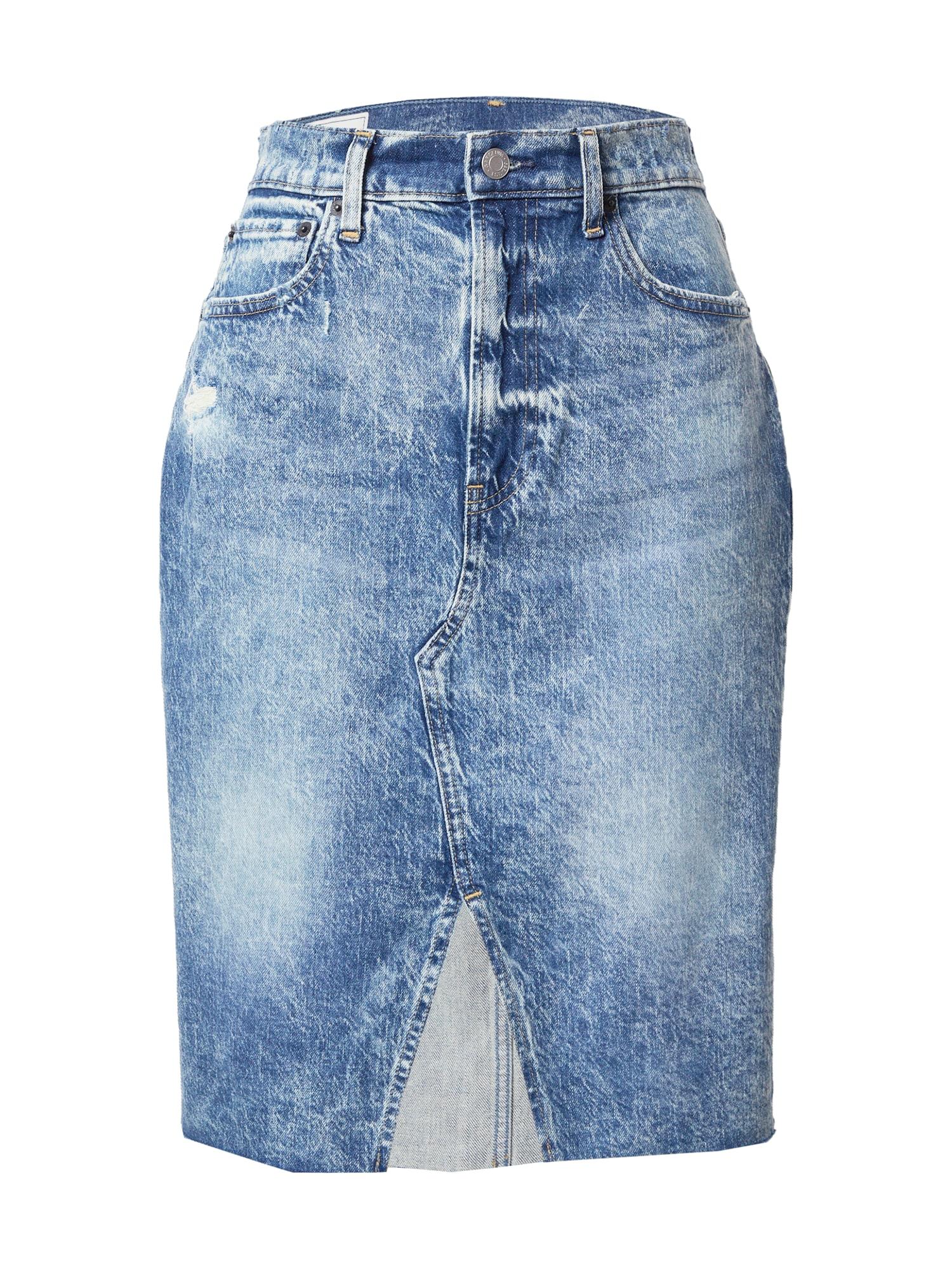 GAP Sijonas tamsiai (džinso) mėlyna