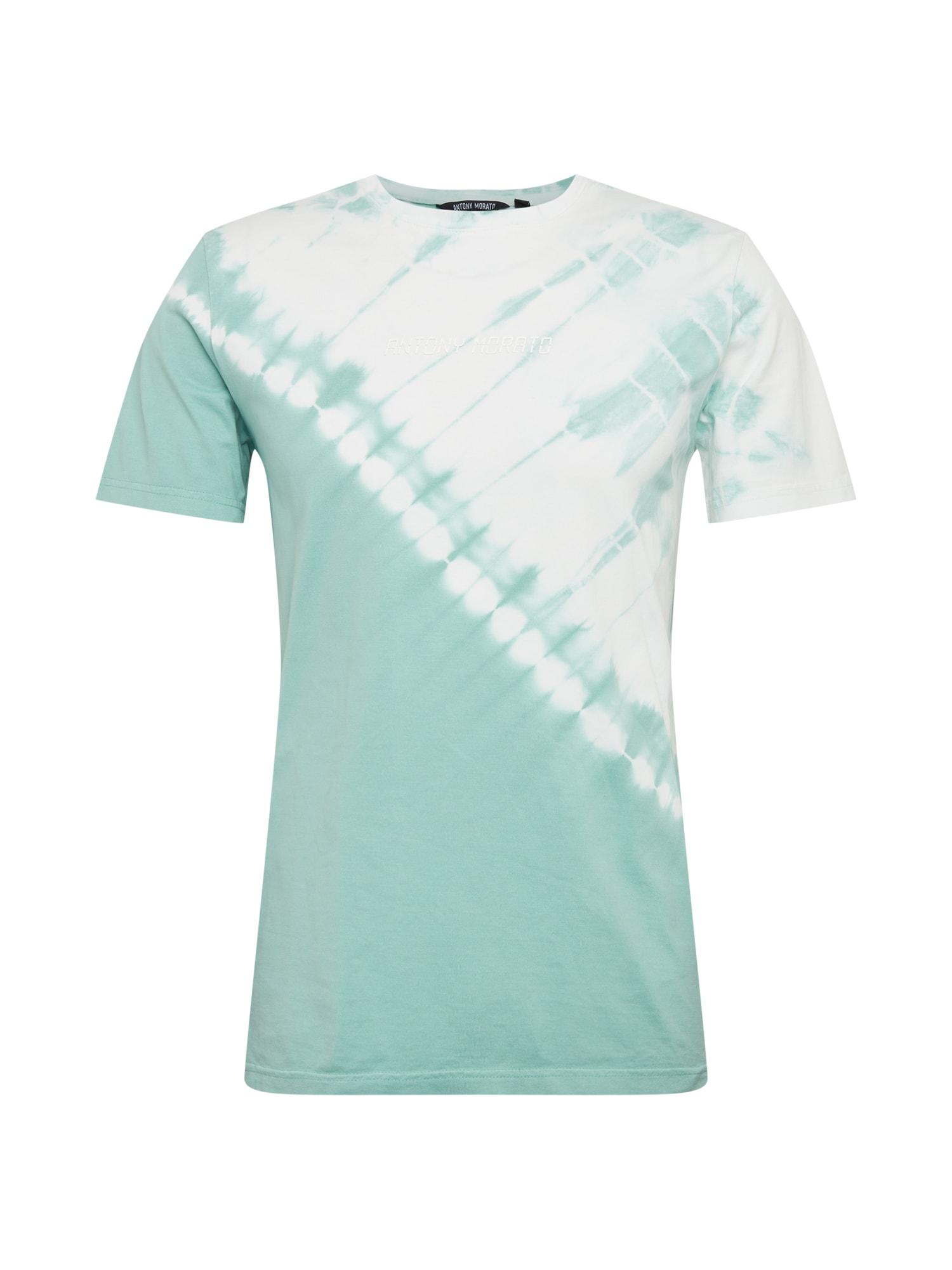 ANTONY MORATO Marškinėliai turkio spalva / balta