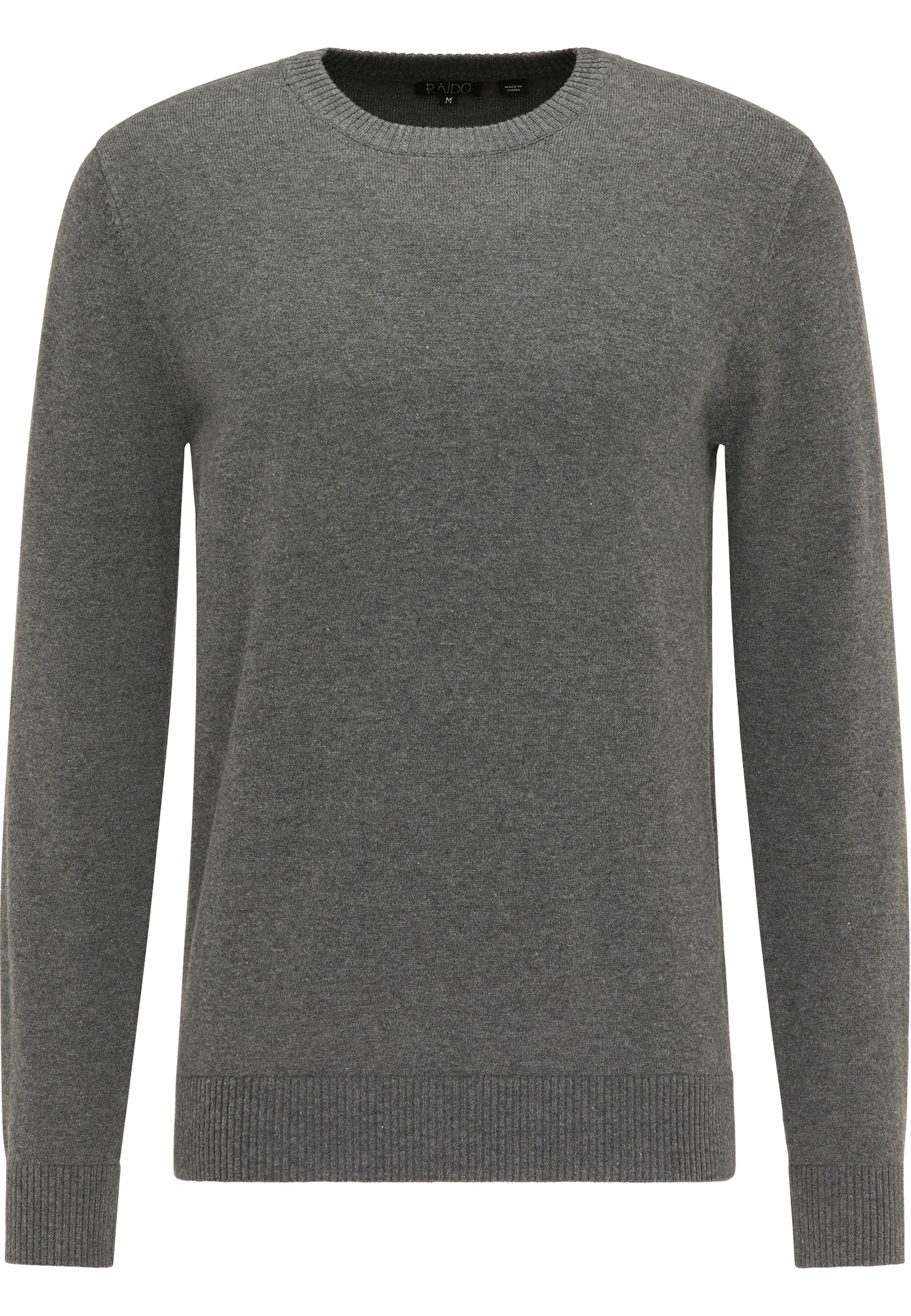 RAIDO Megztinis tamsiai pilka