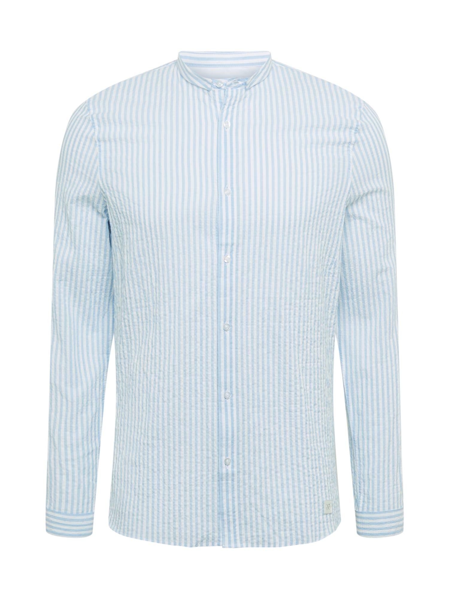 NOWADAYS Marškiniai šviesiai mėlyna / balta