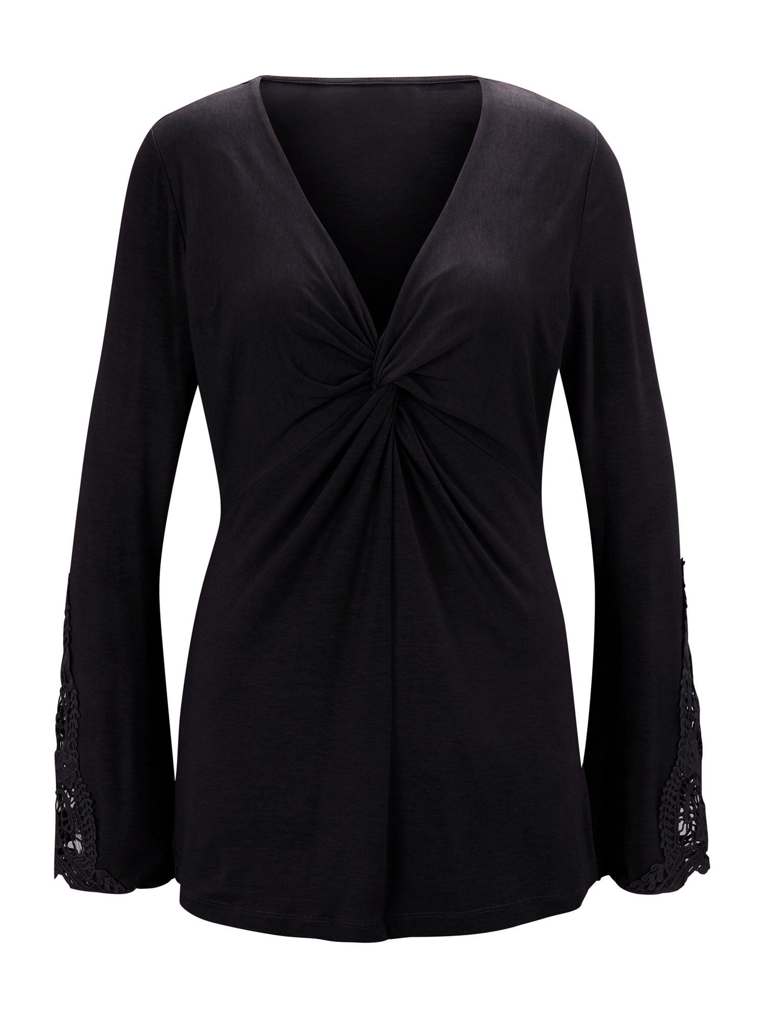 Patrizia Dini by heine Marškinėliai juoda