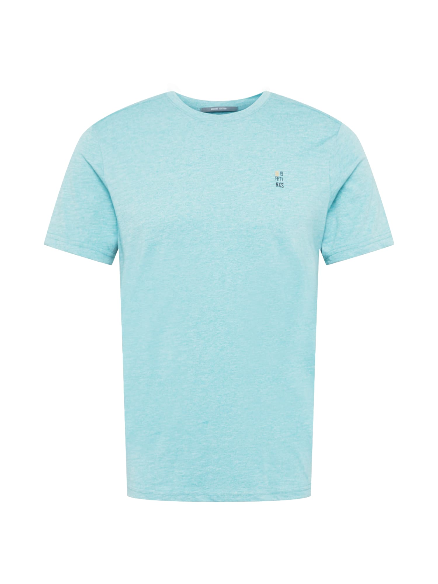 No Excess Marškinėliai turkio spalva / margai balta / juoda