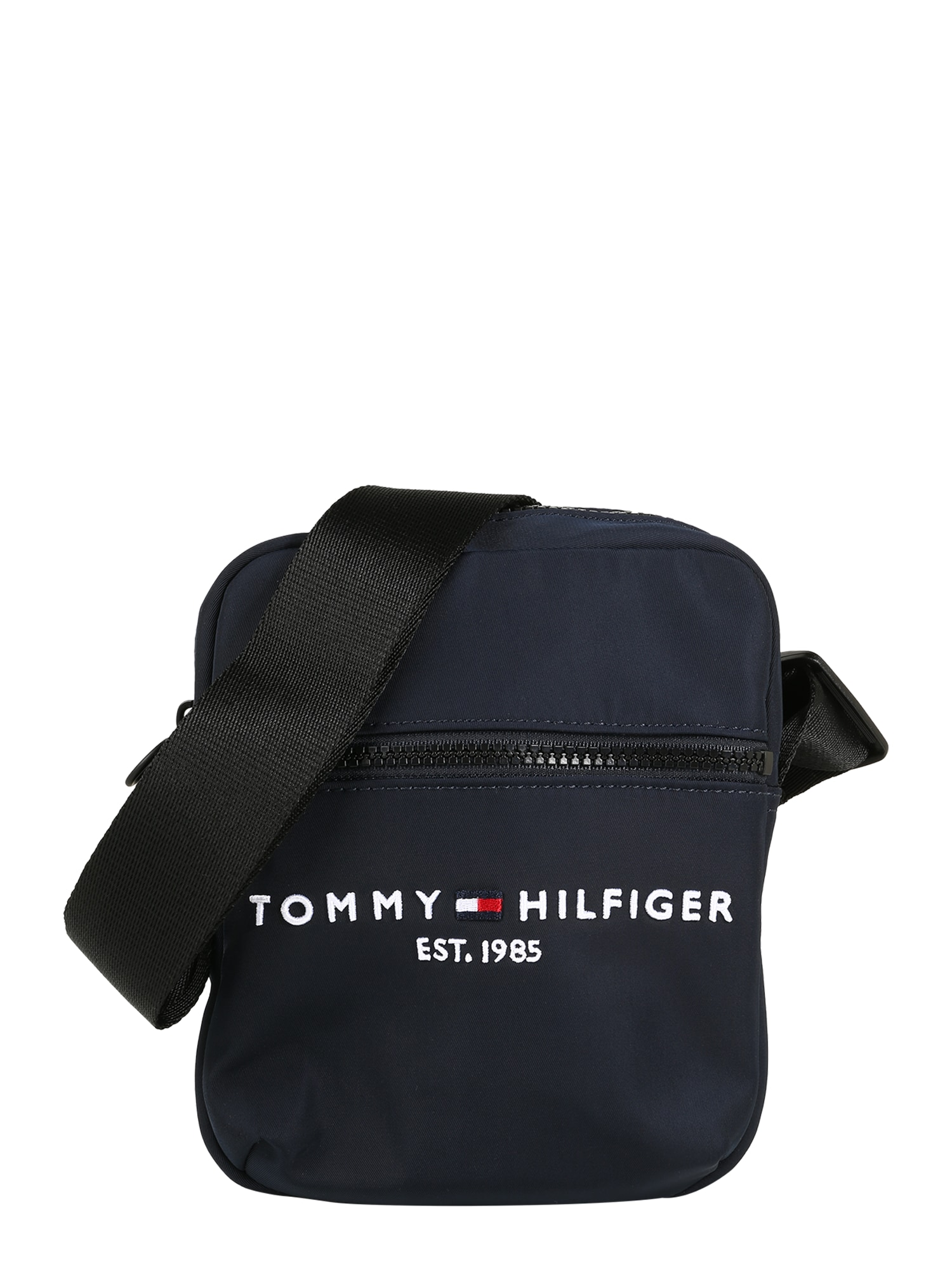 TOMMY HILFIGER Rankinė su ilgu dirželiu tamsiai mėlyna / vyno raudona spalva / raudona / juoda