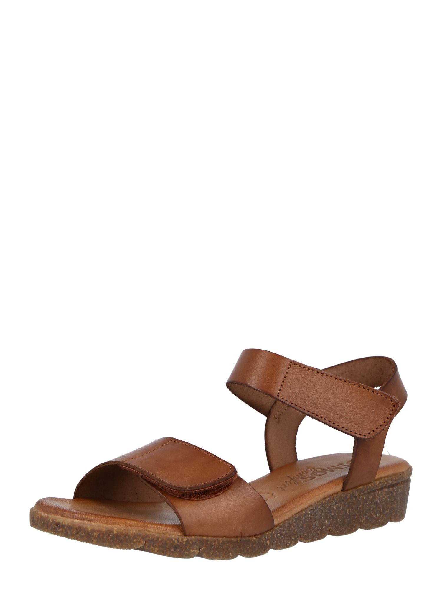 COSMOS COMFORT Sandalai ruda