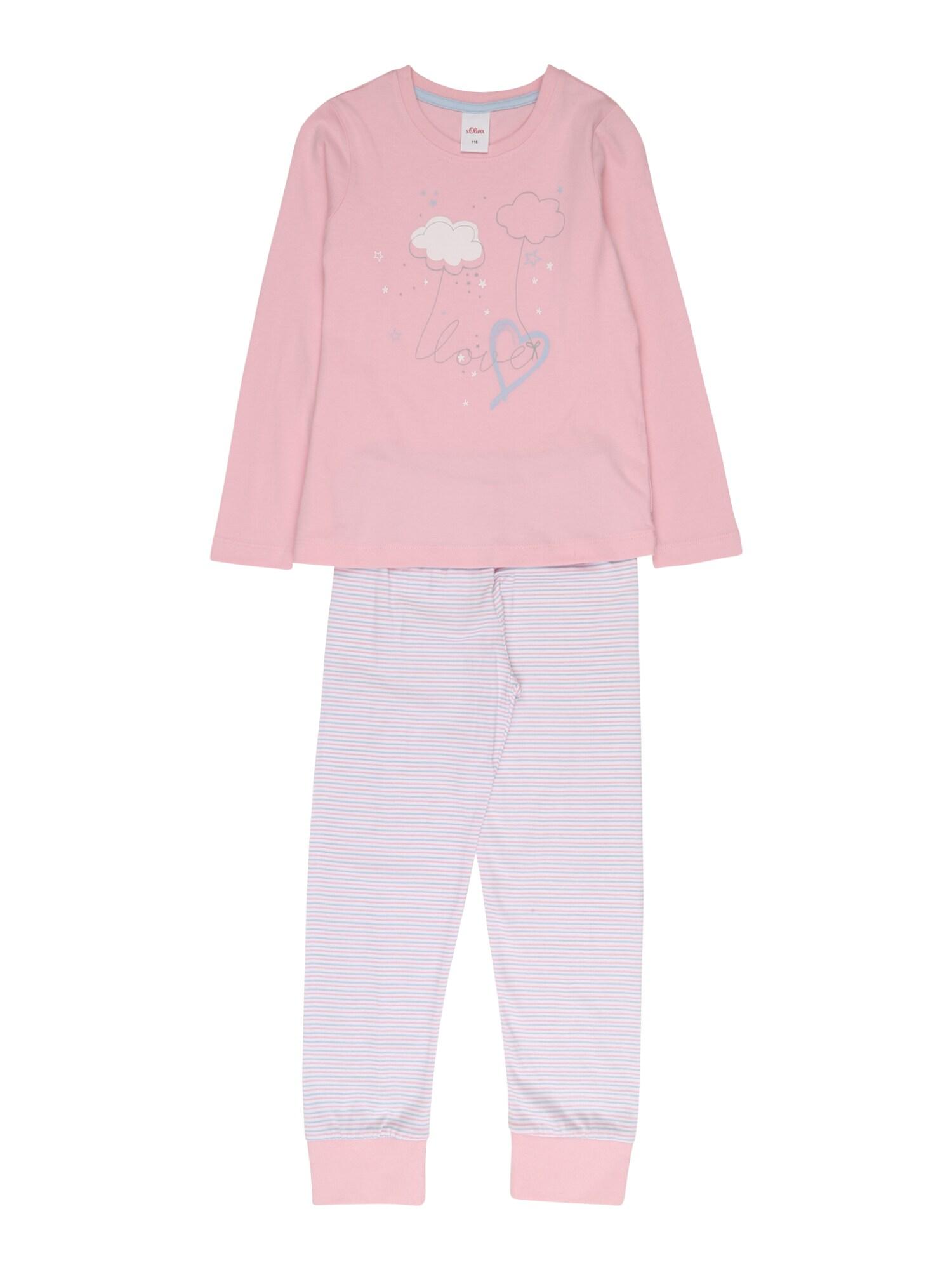 s.Oliver Miego kostiumas rožių spalva / balta / mėlyna