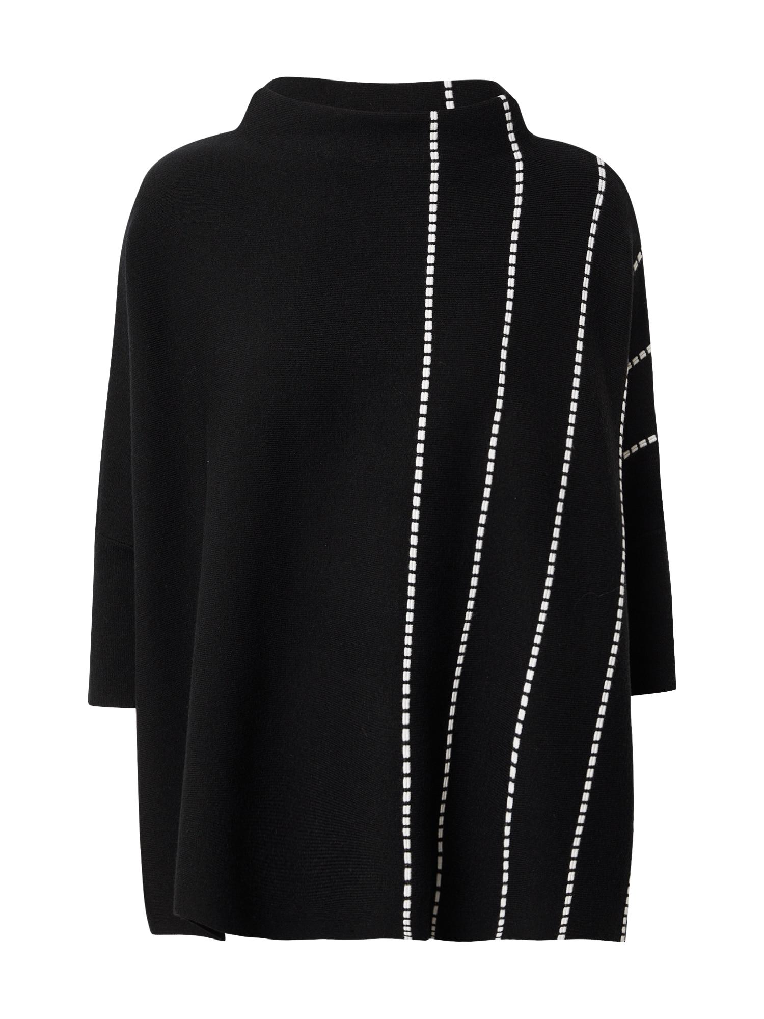 Someday Megztinis juoda / balta
