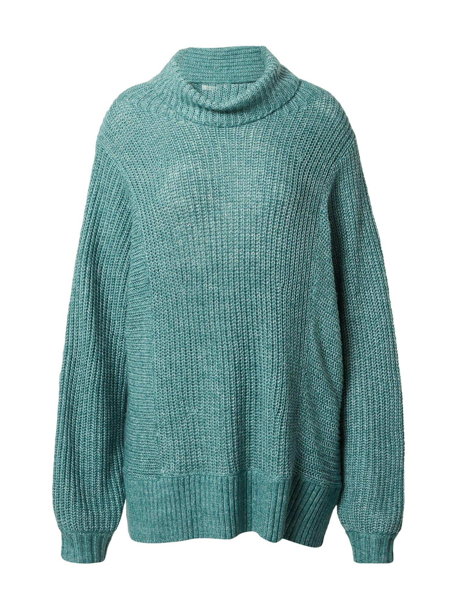 American Eagle Laisvas megztinis margai žalia