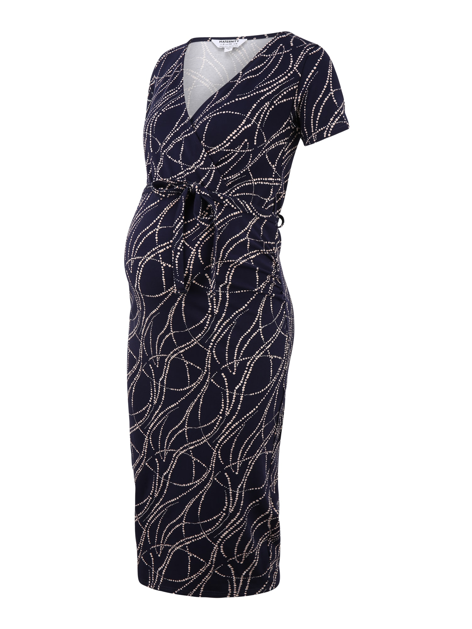 Dorothy Perkins Maternity Suknelė juoda / kūno spalva