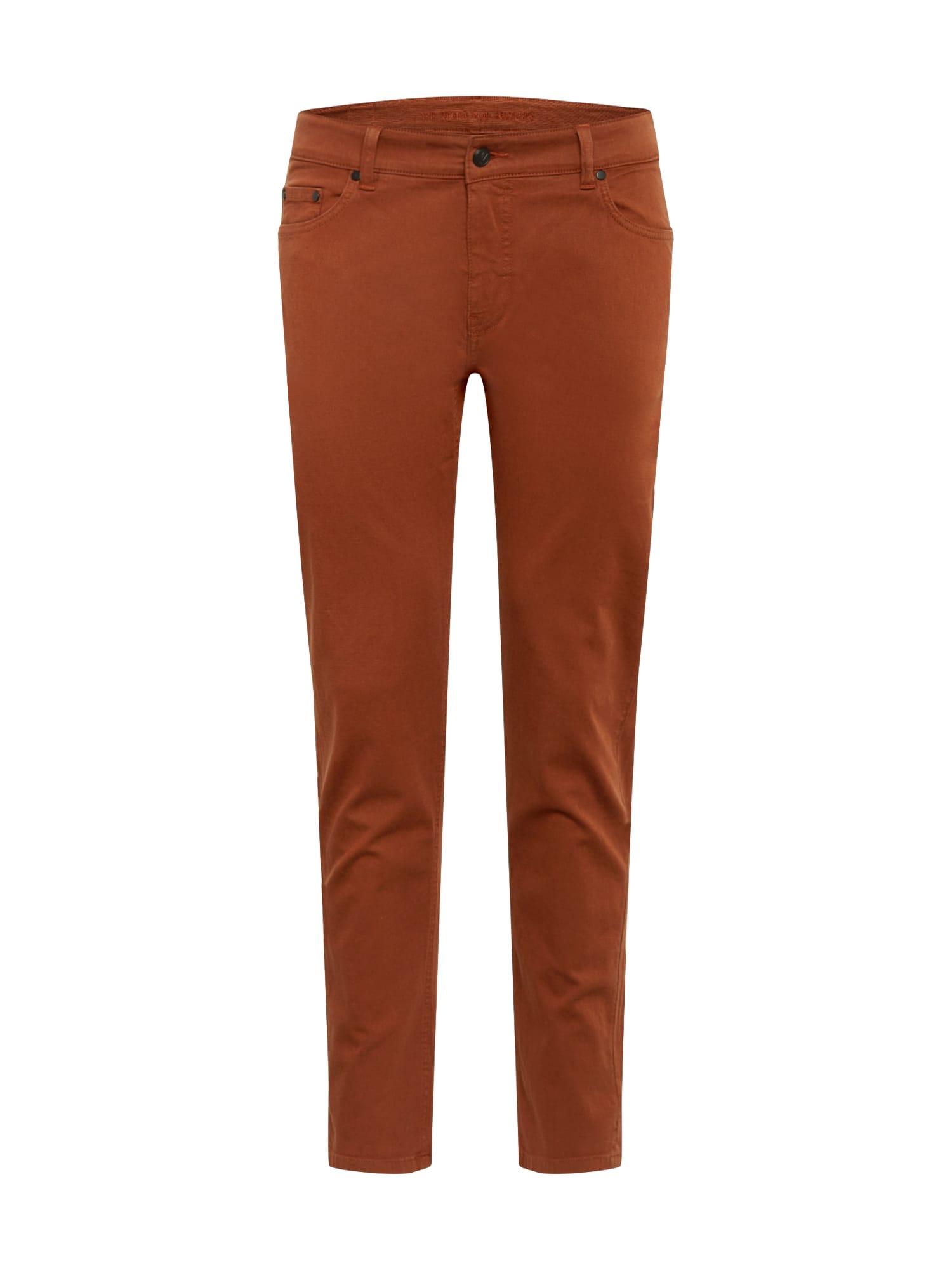 bleed clothing Džinsai 'Retrotastic' tamsiai oranžinė